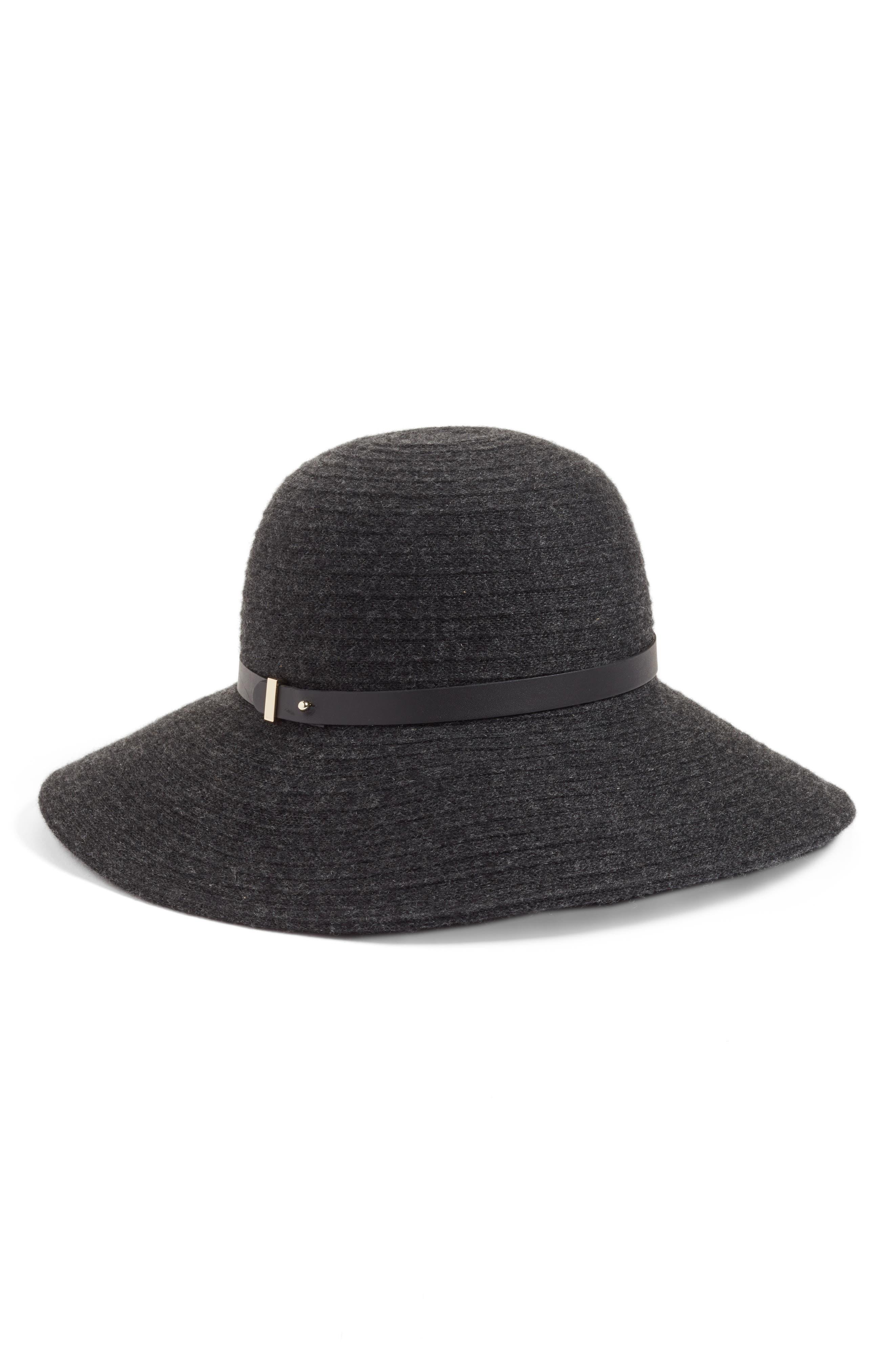 Packable Wool & Cashmere Hat,                             Main thumbnail 1, color,