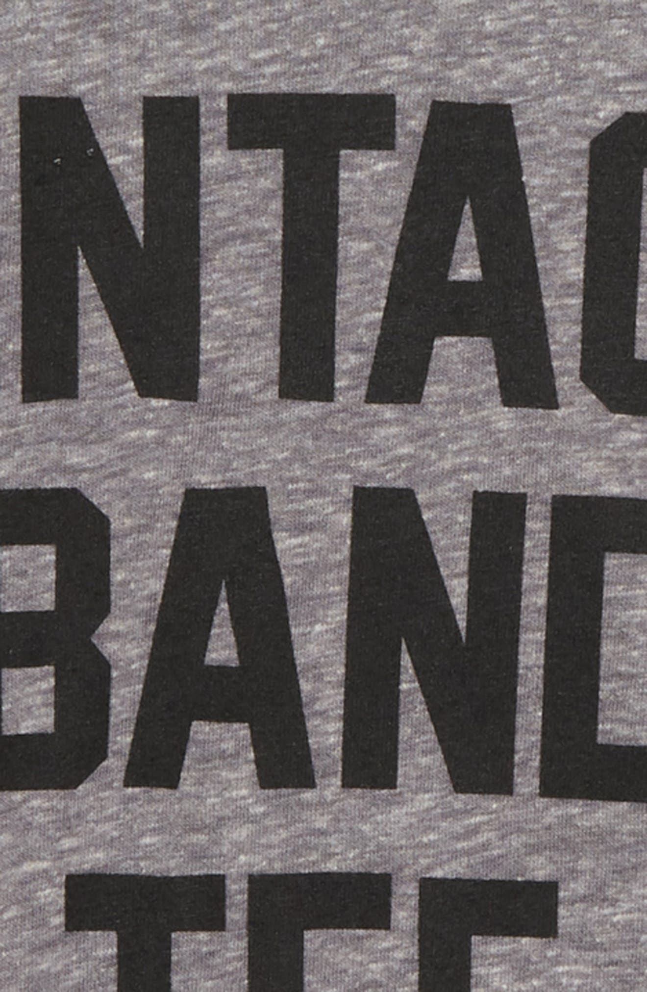 Vintage Band T-Shirt,                             Alternate thumbnail 2, color,                             MED GRAY