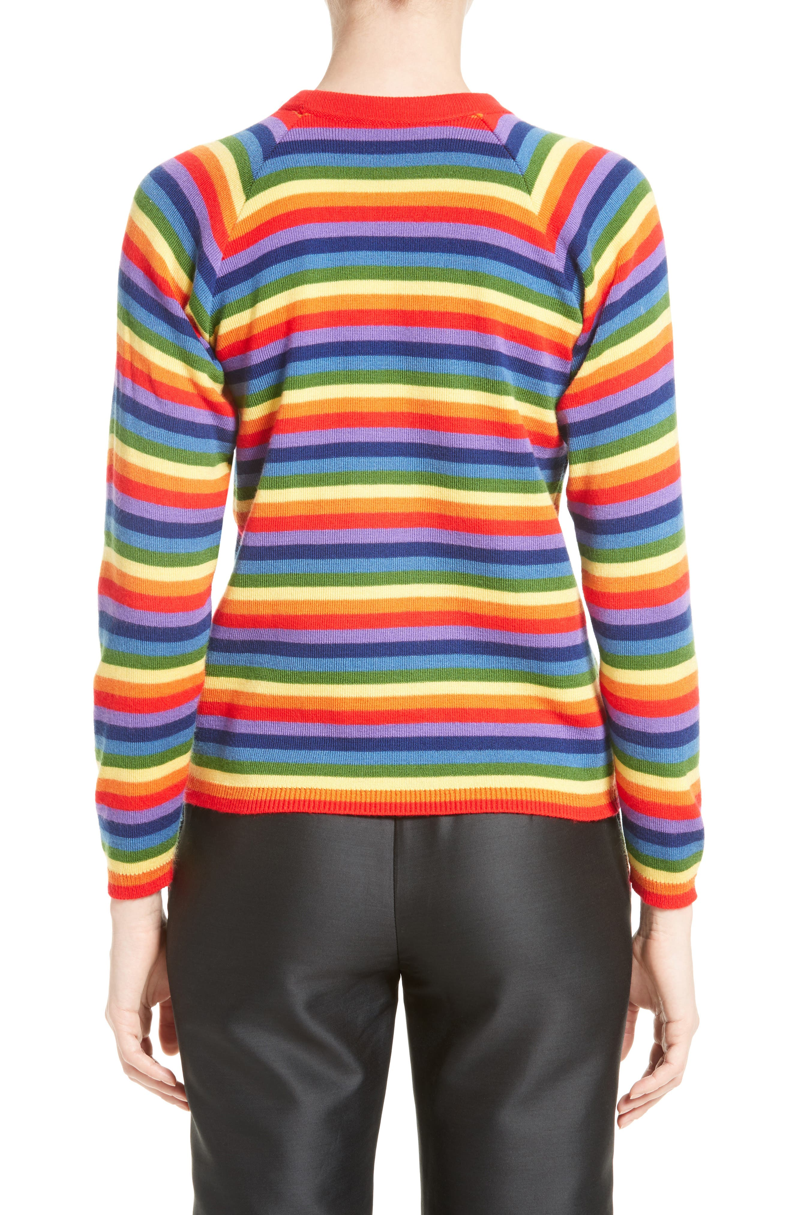 Charlie Rainbow Sweater,                             Alternate thumbnail 2, color,                             600