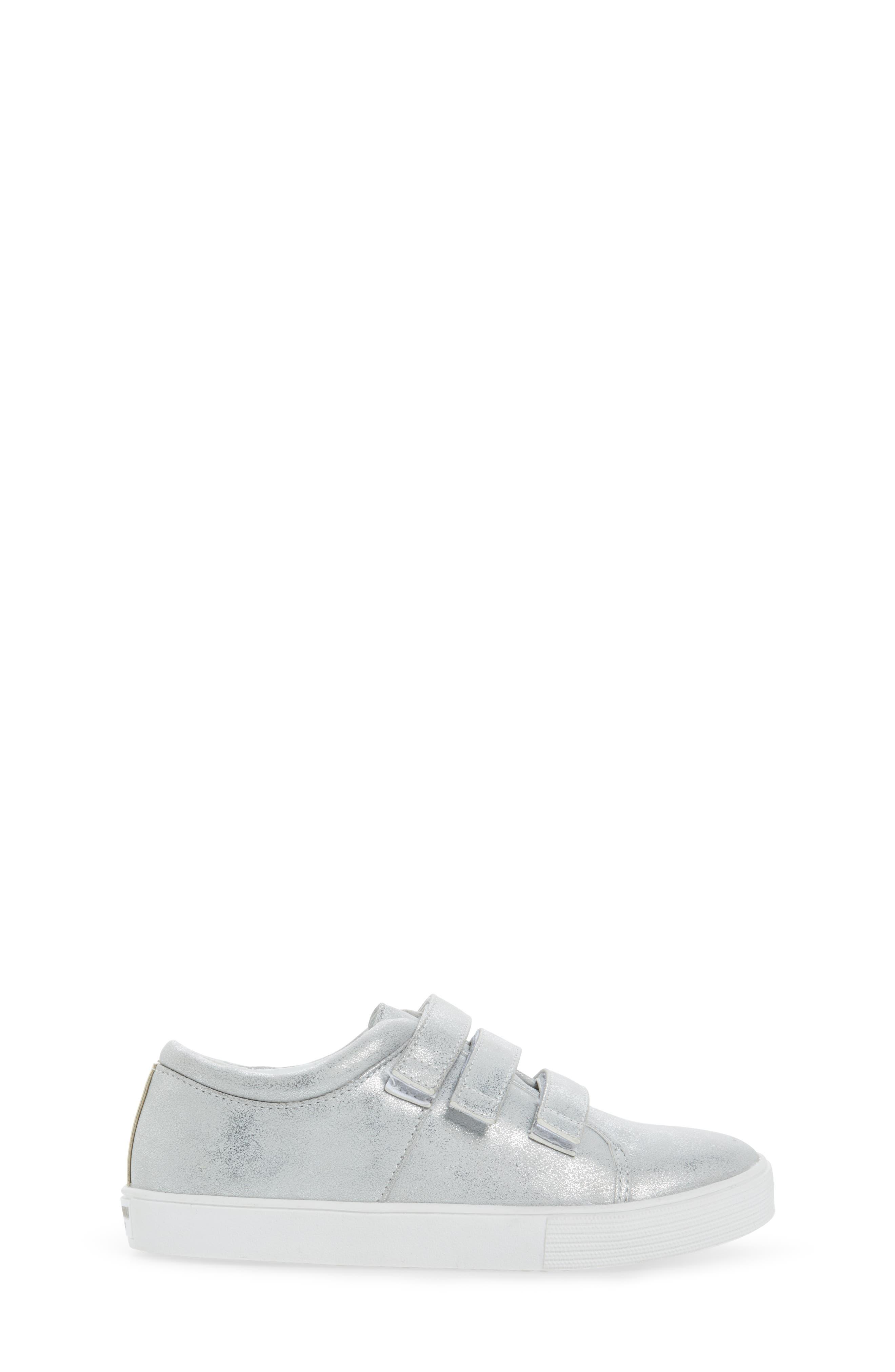 Kam Glitter Strap Sneaker,                             Alternate thumbnail 3, color,                             040