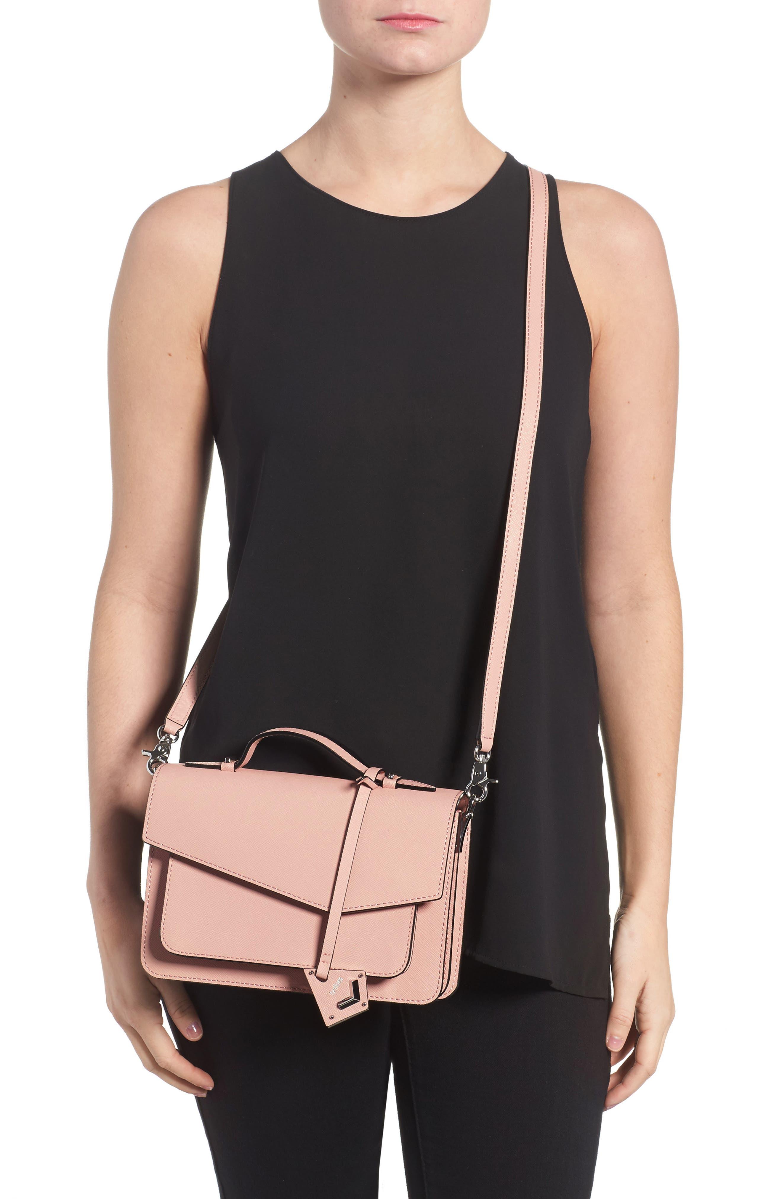 Cobble Hill Leather Crossbody Bag,                             Alternate thumbnail 44, color,