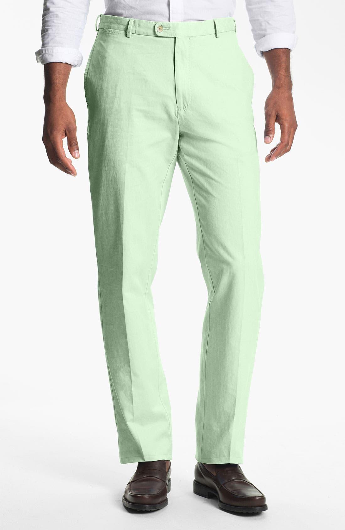 Garment Washed Twill Pants,                             Main thumbnail 9, color,