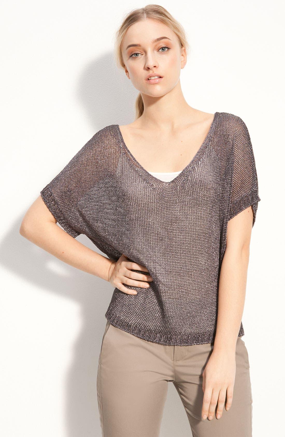 Metallic Sweater, Main, color, 220