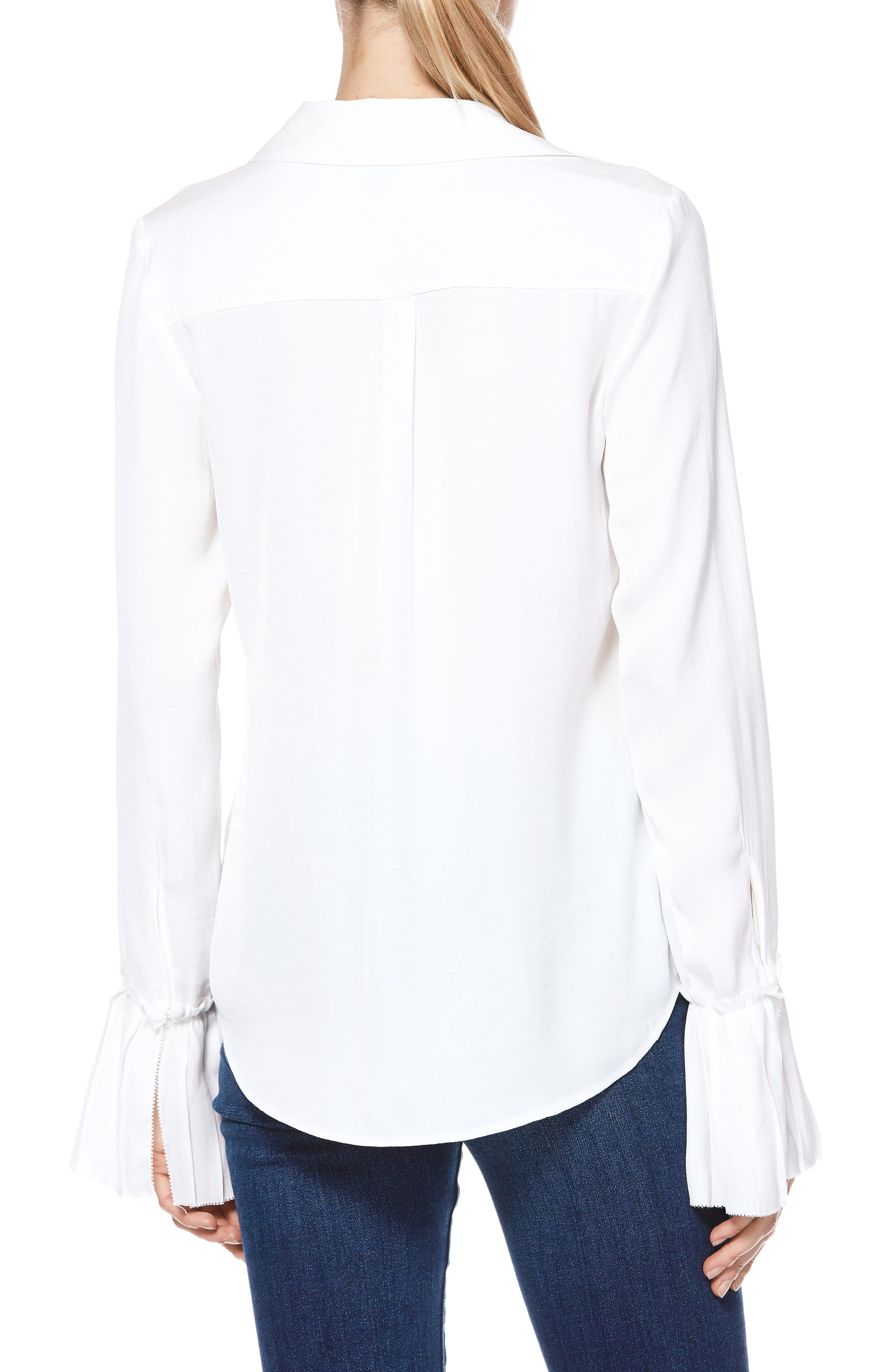 Abriana Shirt,                             Alternate thumbnail 2, color,                             WHITE