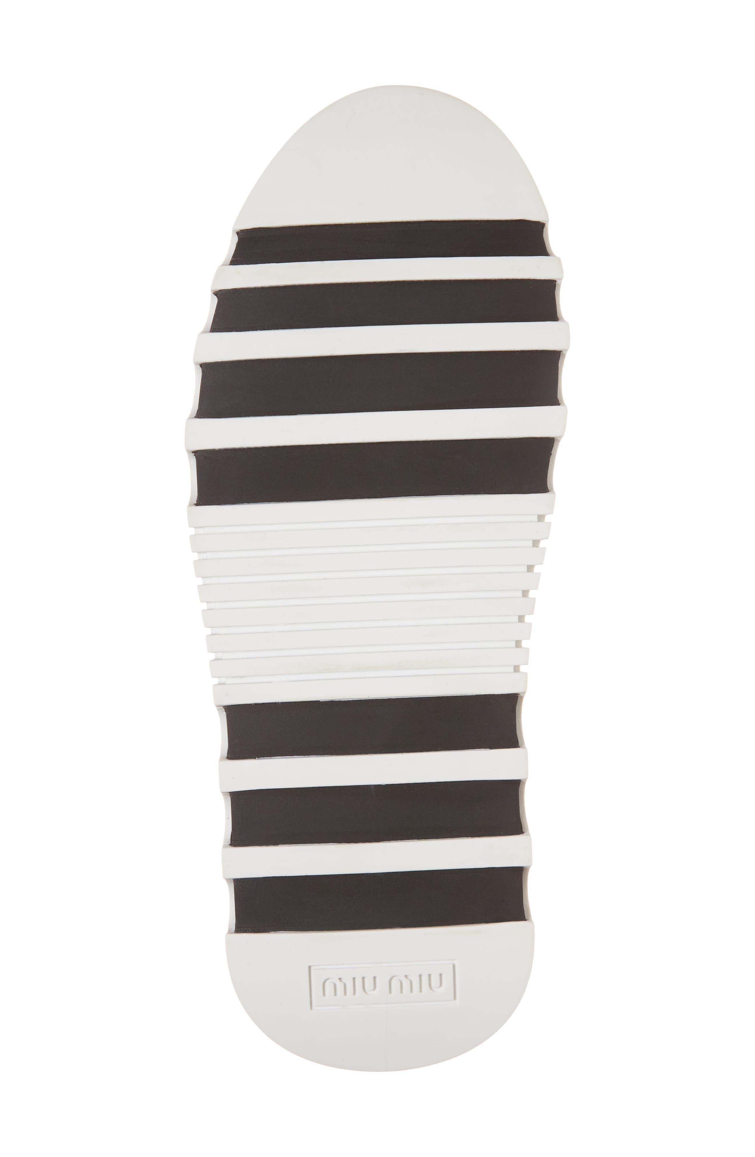 Embellished Sock Boot,                             Alternate thumbnail 6, color,                             BLACK