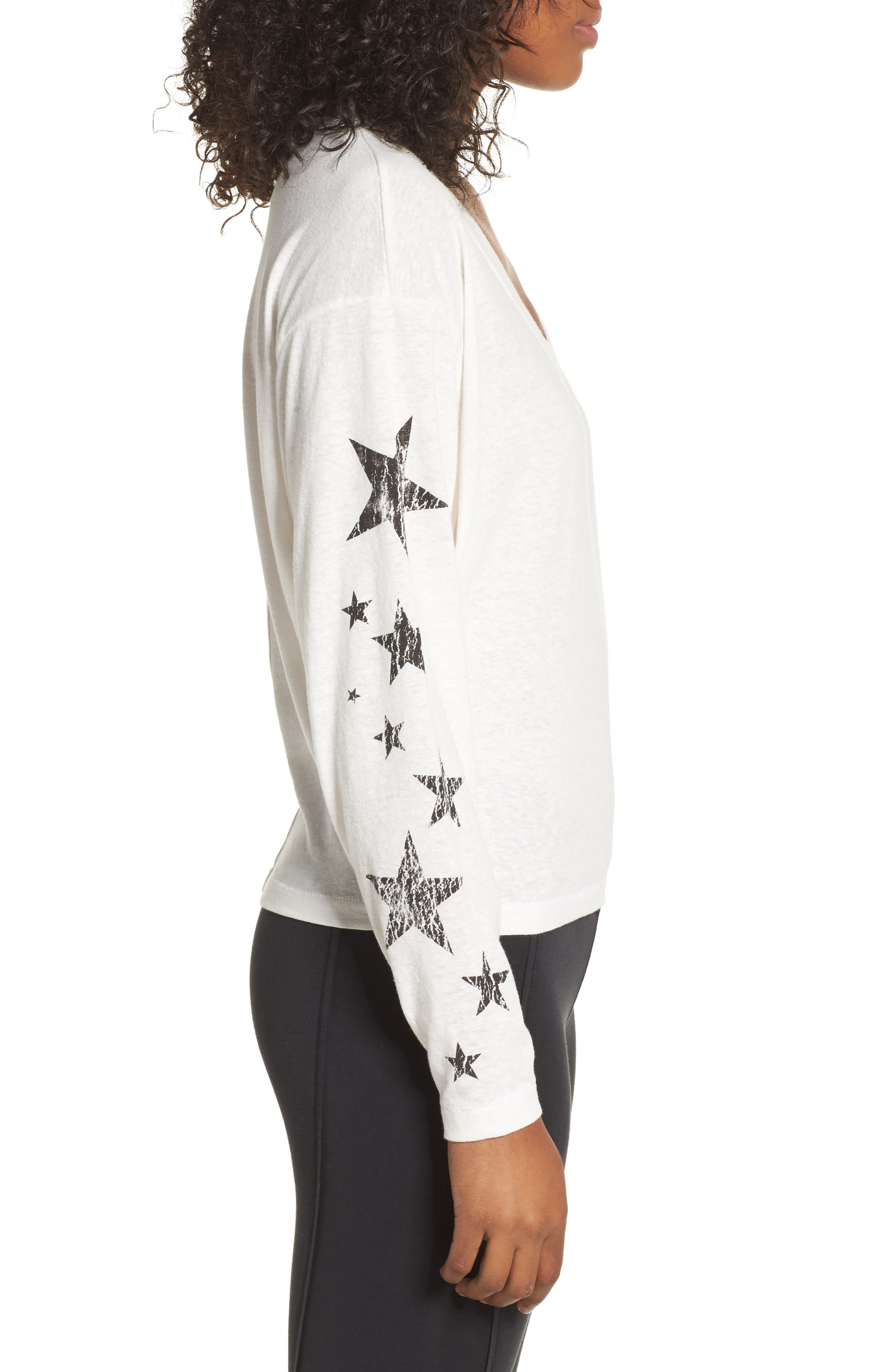 Free People Melrose Star Graphic Top,                             Alternate thumbnail 9, color,