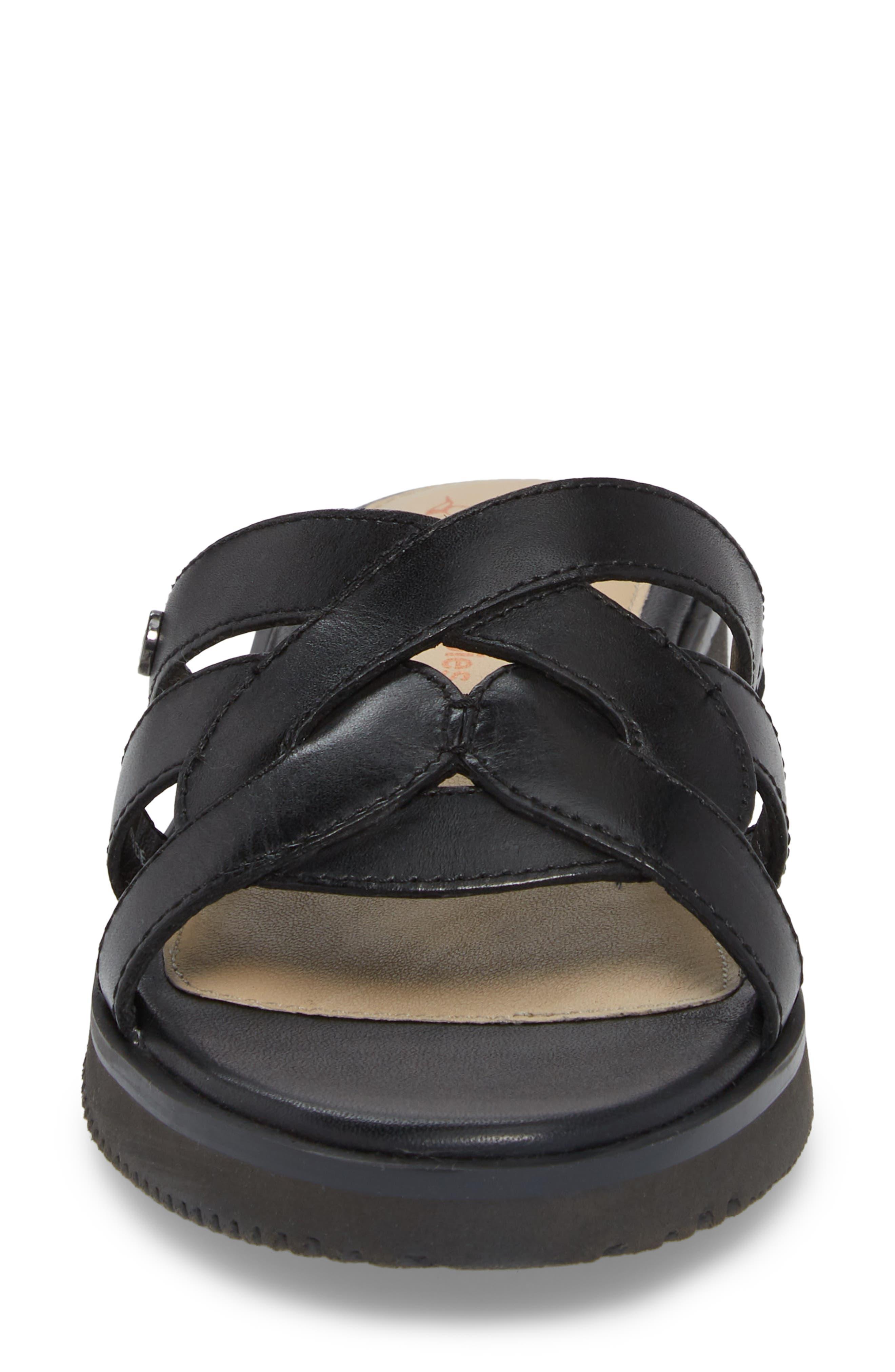Braid Slide Sandal,                             Alternate thumbnail 4, color,                             007