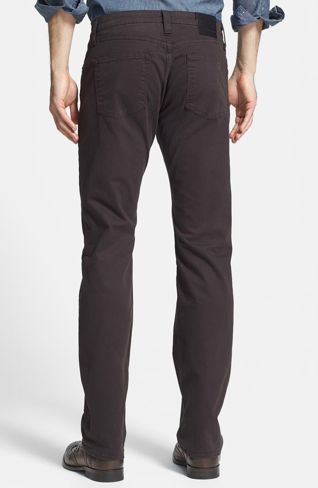 'Kane' Slim Fit Cotton Twill Pants,                             Alternate thumbnail 49, color,