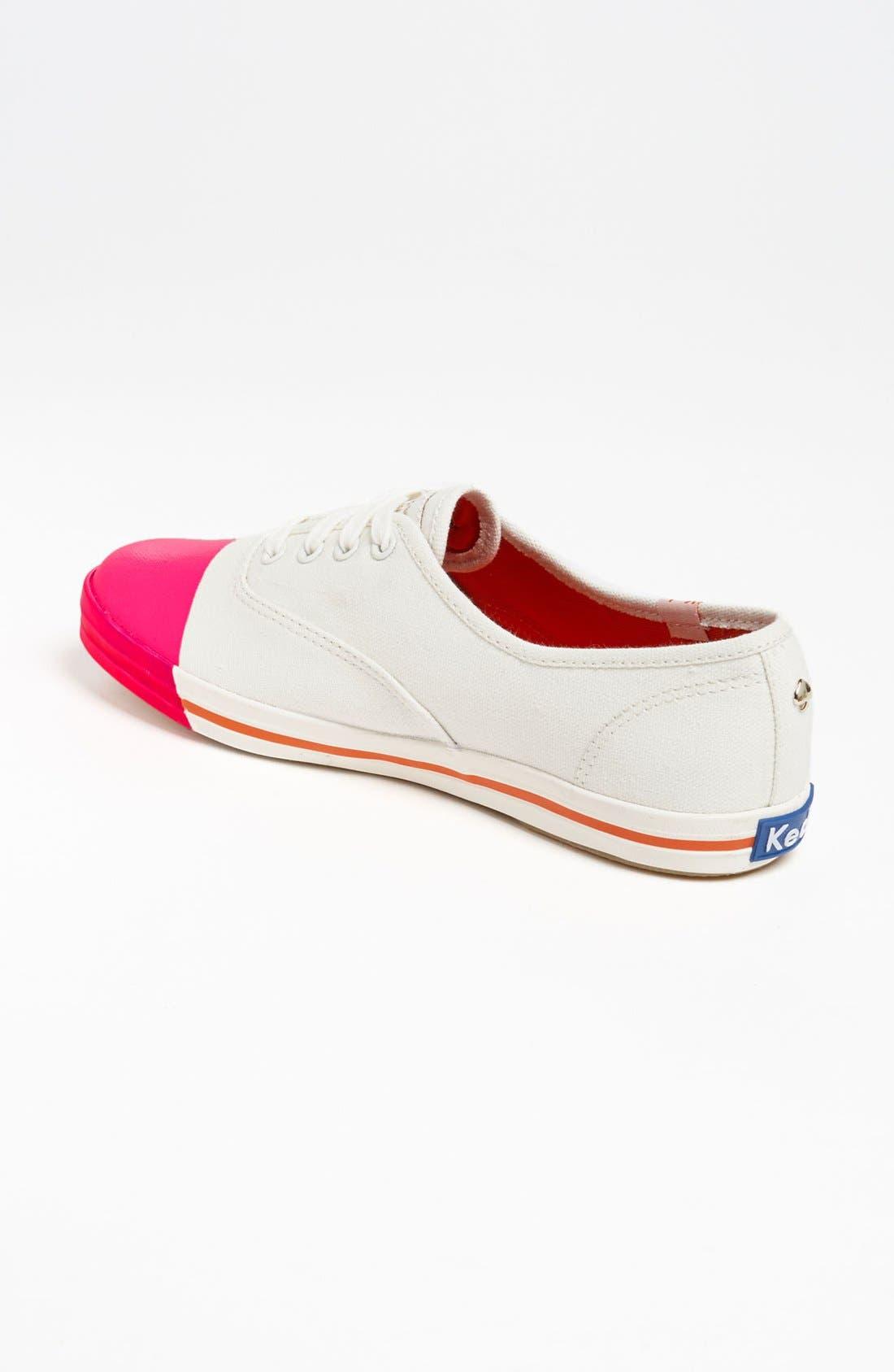 Keds<sup>®</sup> for kate spade new york 'kick' sneaker,                             Alternate thumbnail 7, color,