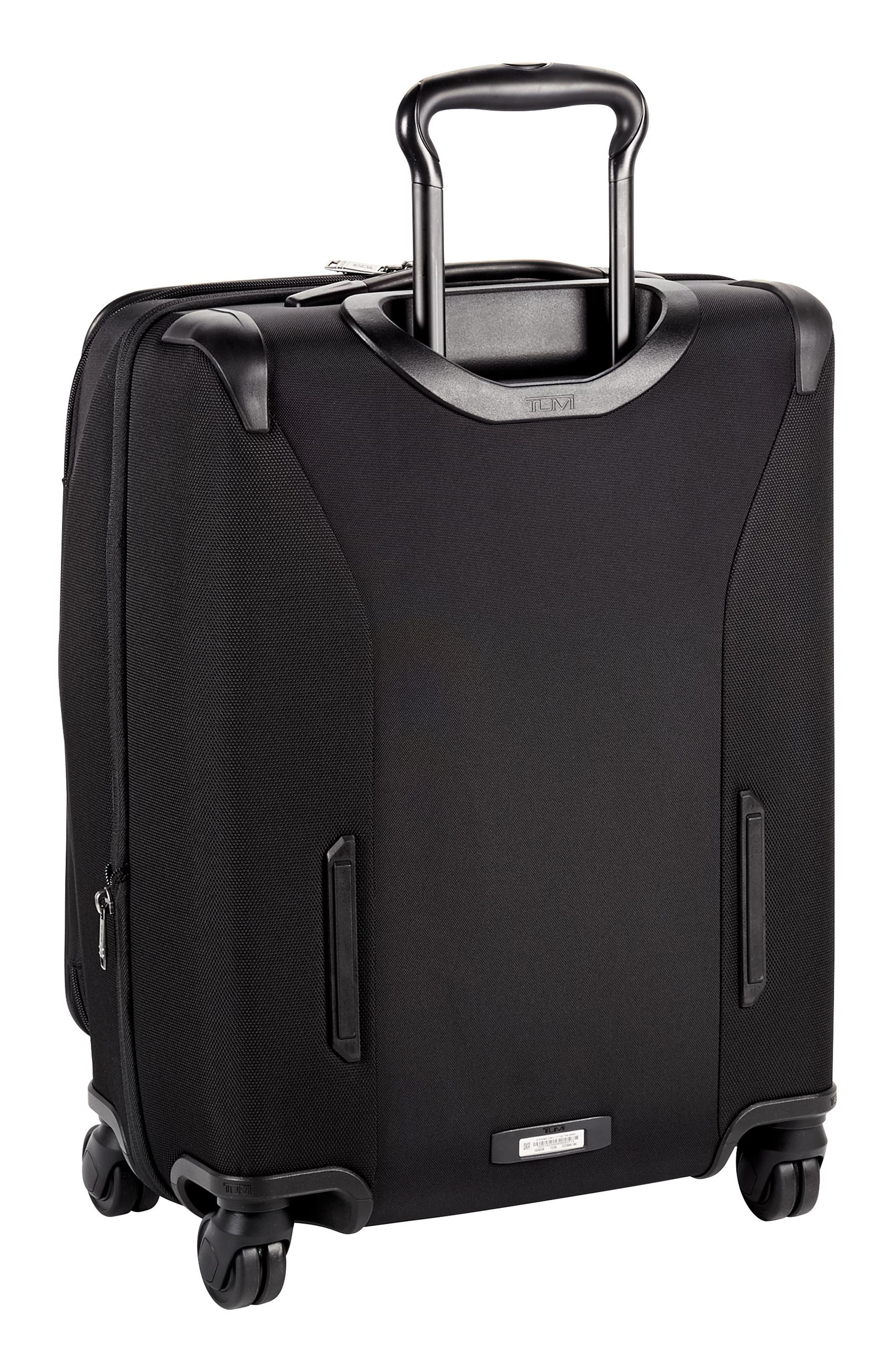 Merge - 22-Inch Continental Expandable Rolling Carry-On,                             Alternate thumbnail 5, color,                             BLACK CONTRAST