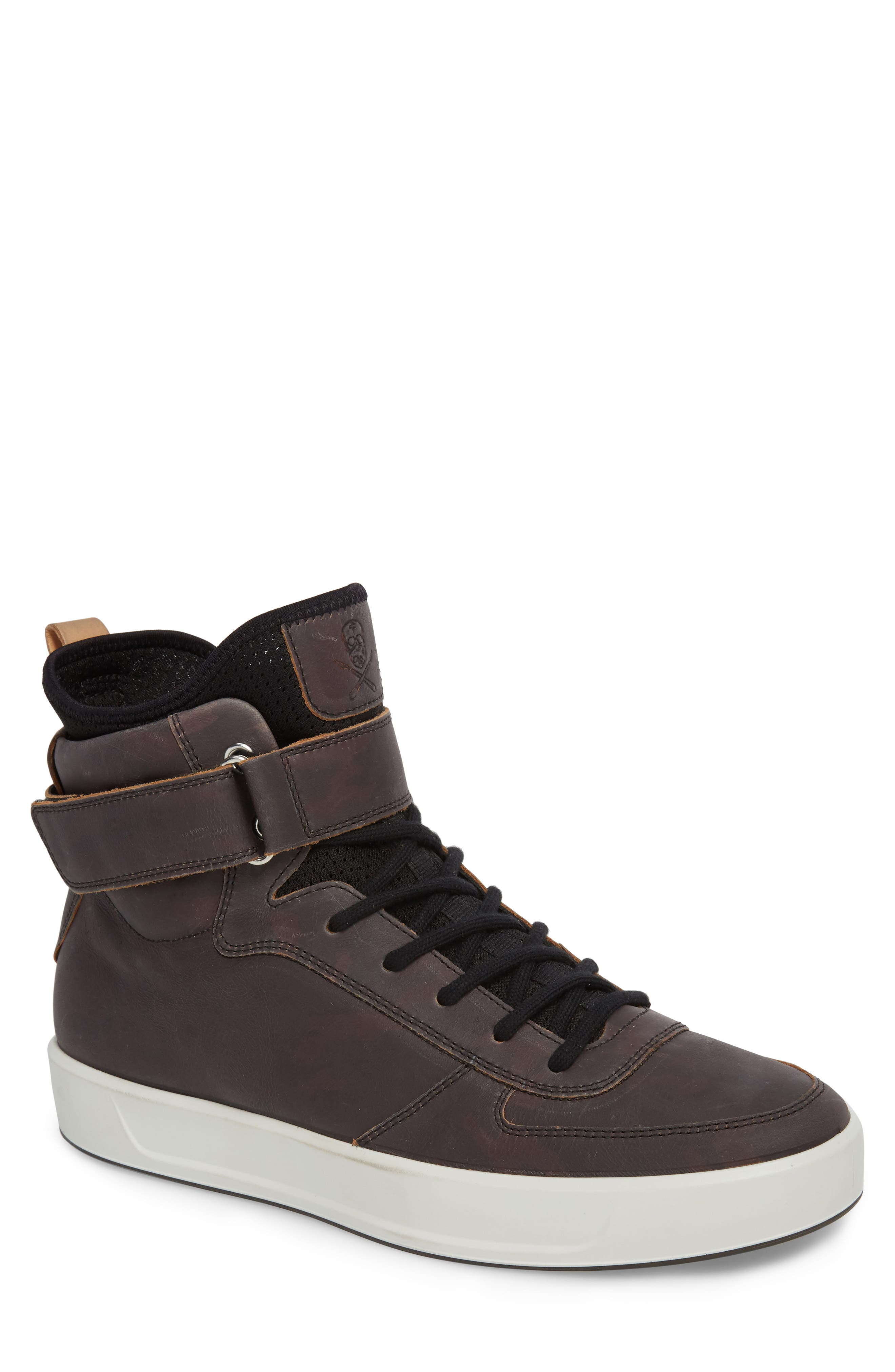 ECCO,                             Soft 8 Color Changing Sneaker Boot,                             Main thumbnail 1, color,                             002