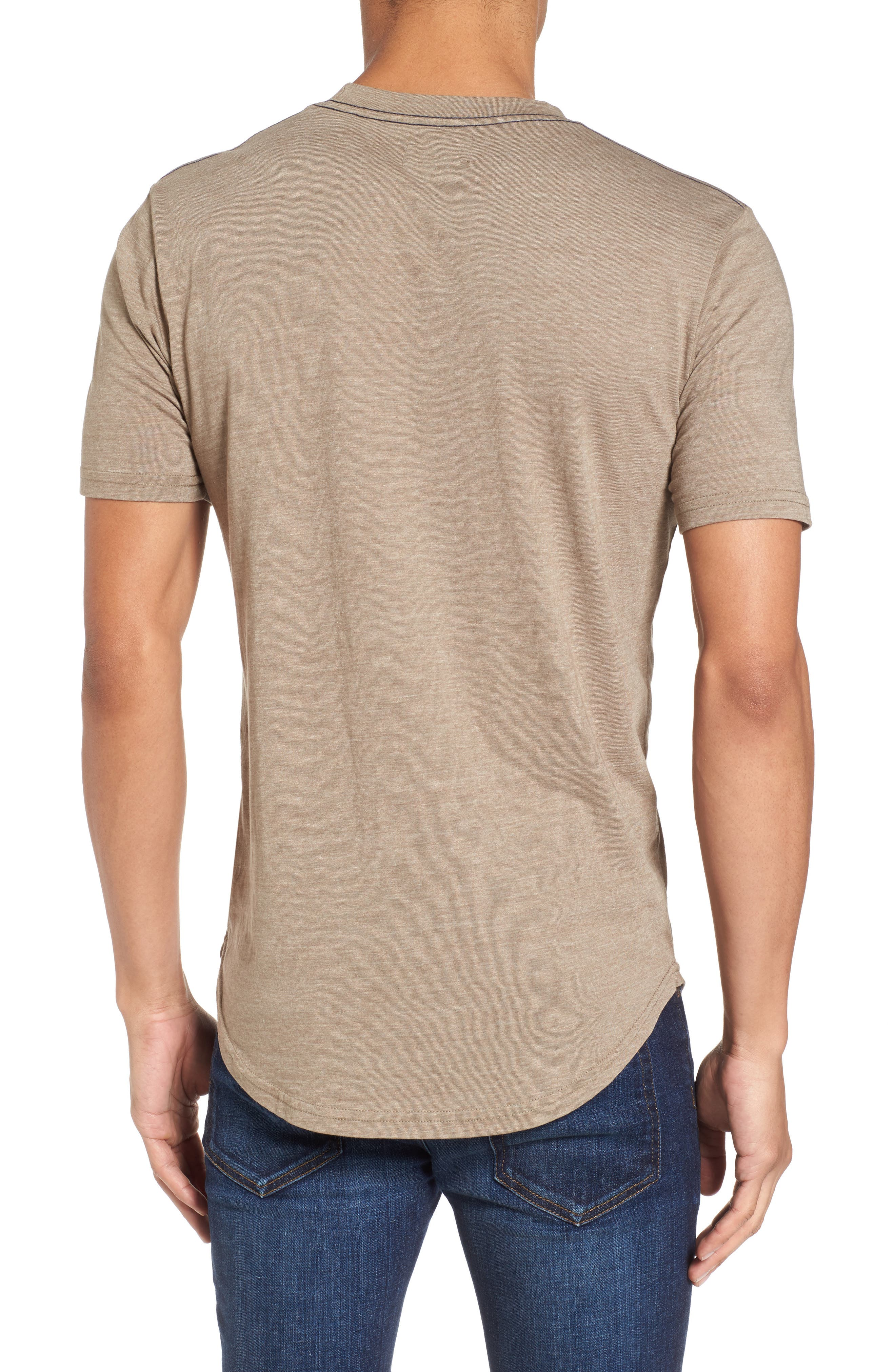 Scallop Triblend Crewneck T-Shirt,                             Alternate thumbnail 26, color,