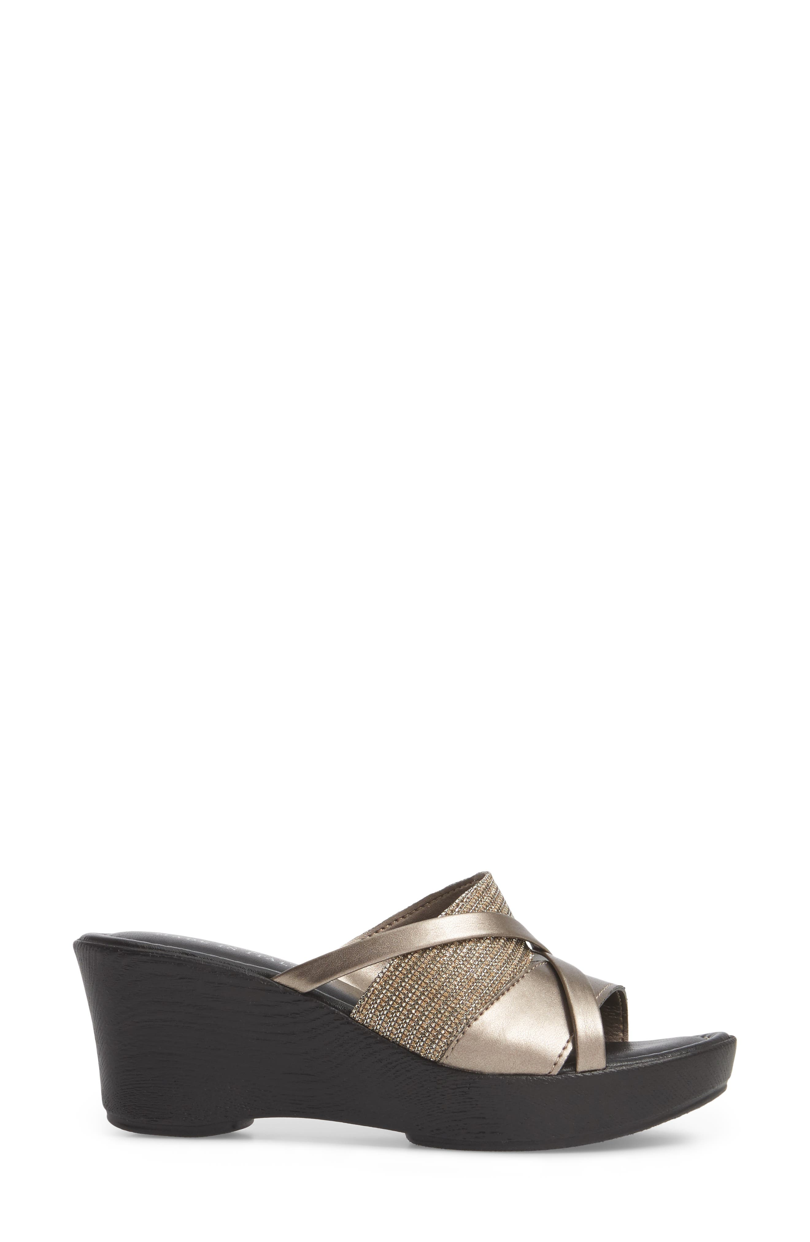 by East Street<sup>®</sup> Lucette Strappy Wedge Mule,                             Alternate thumbnail 15, color,