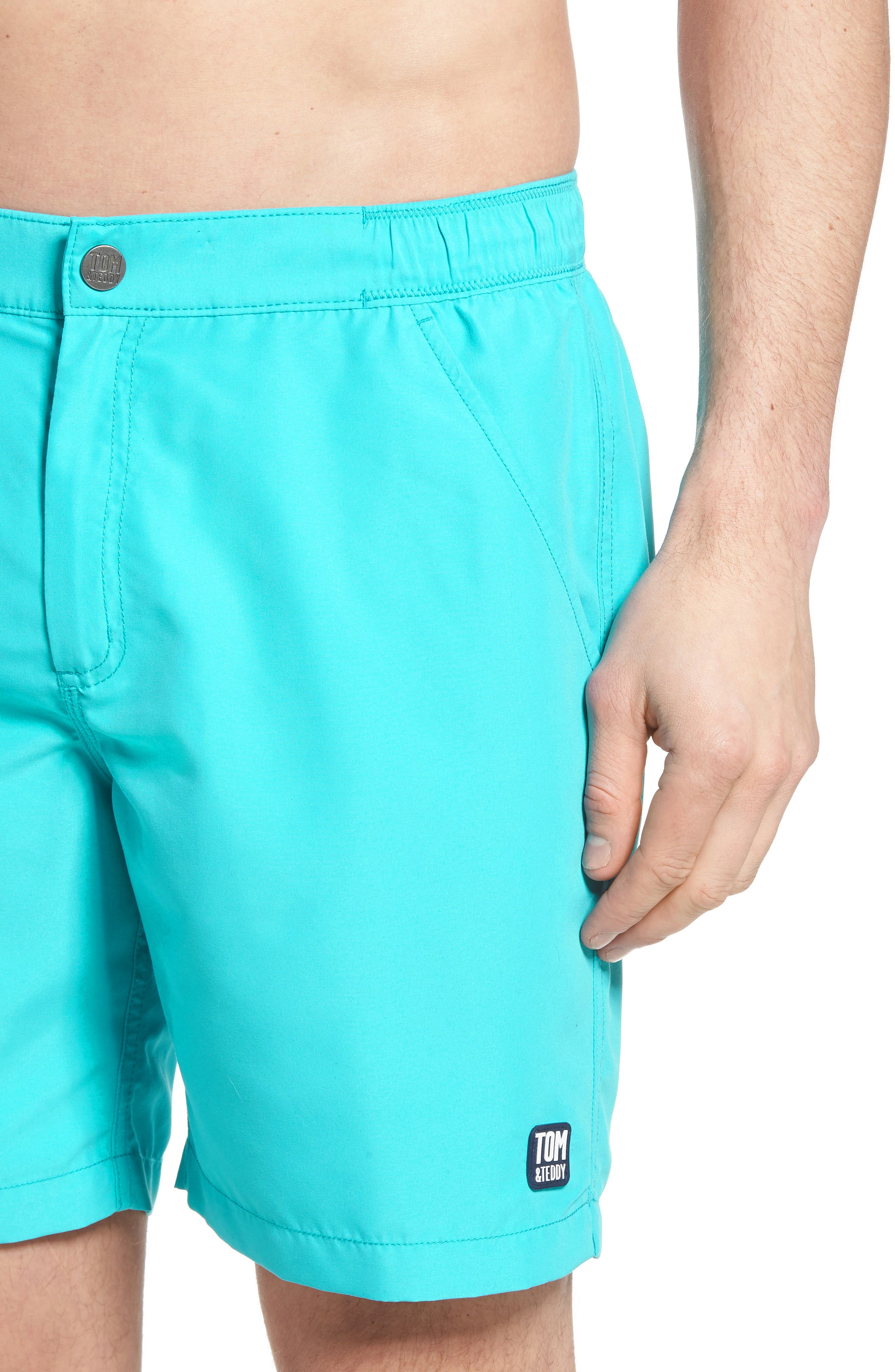Swim Trunks,                             Alternate thumbnail 4, color,                             430