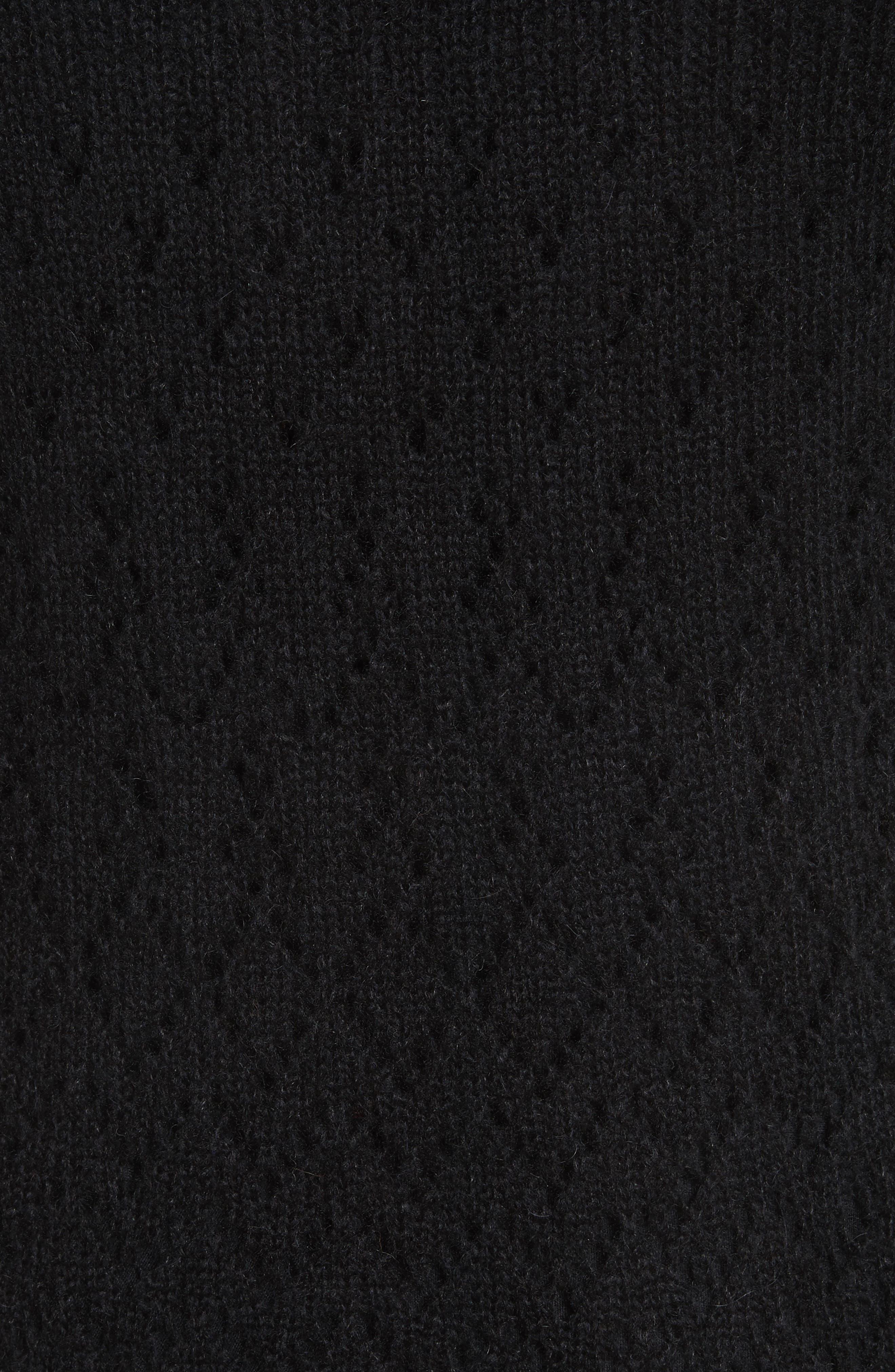 Alpaca Blend Button Cardigan,                             Alternate thumbnail 5, color,