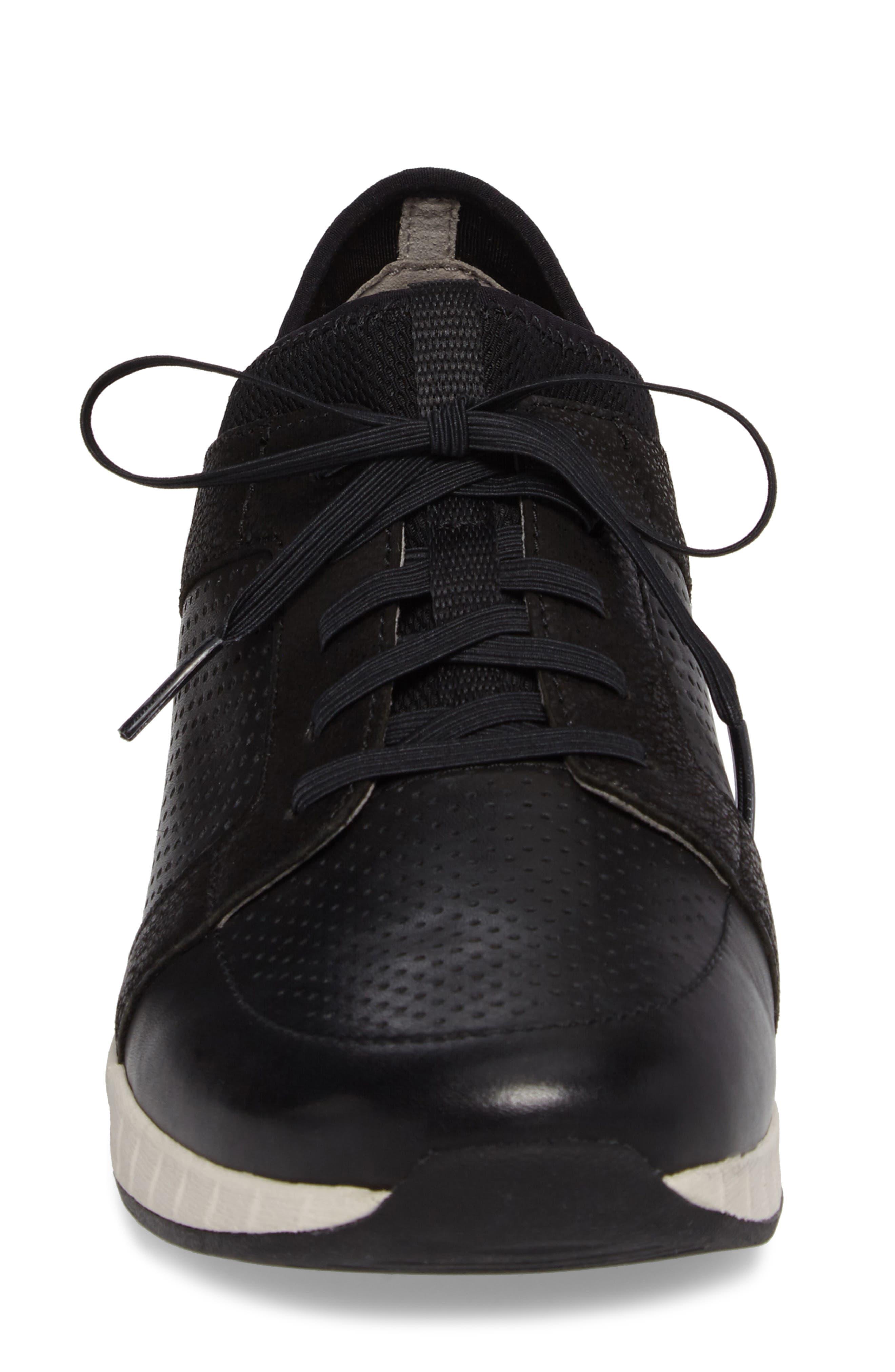 Cozette Slip-On Sneaker,                             Alternate thumbnail 4, color,                             001