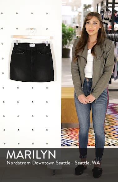Le Mini Denim Skirt, sales video thumbnail