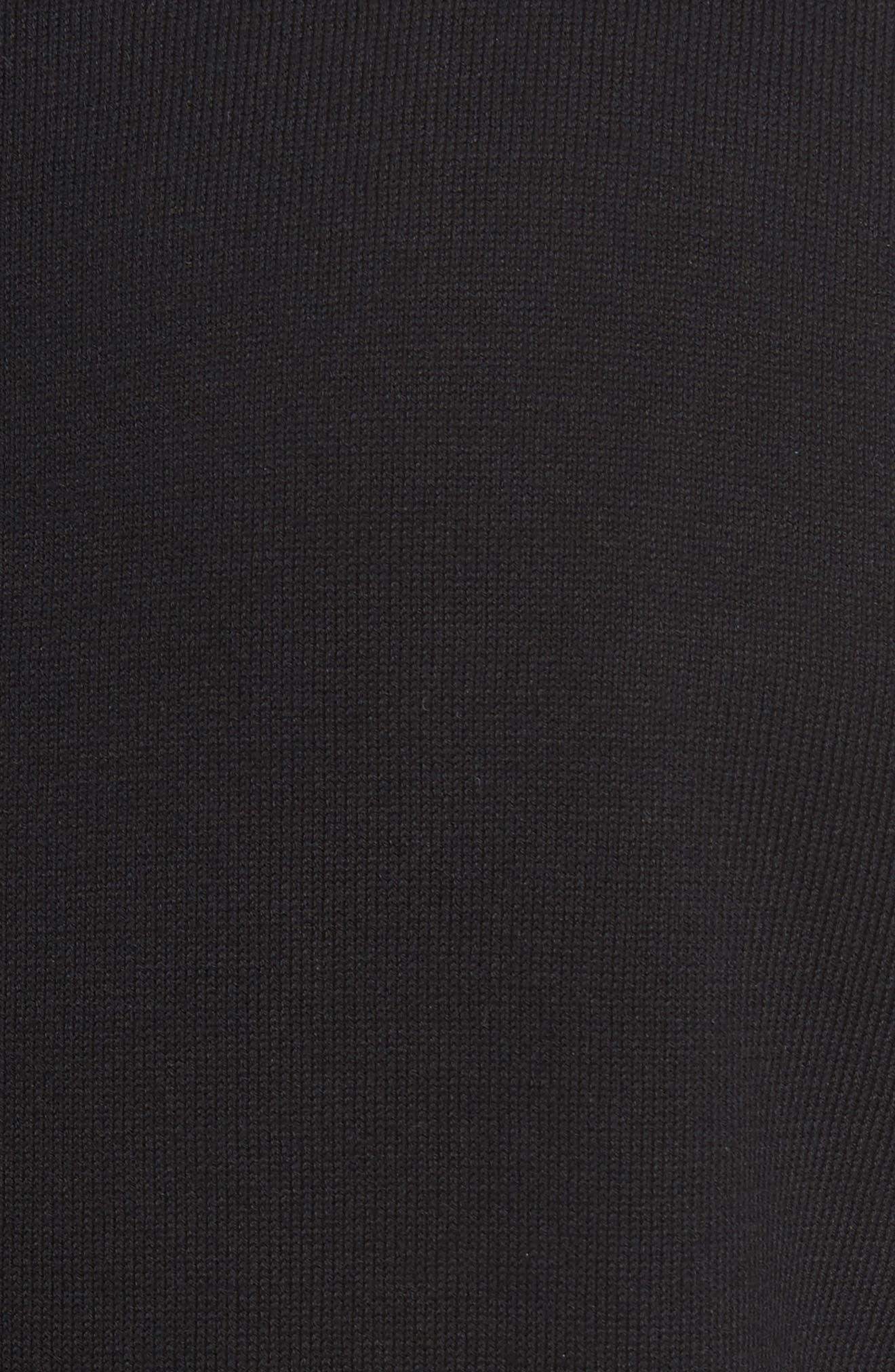 Star Crewneck Sweater,                             Alternate thumbnail 5, color,                             001