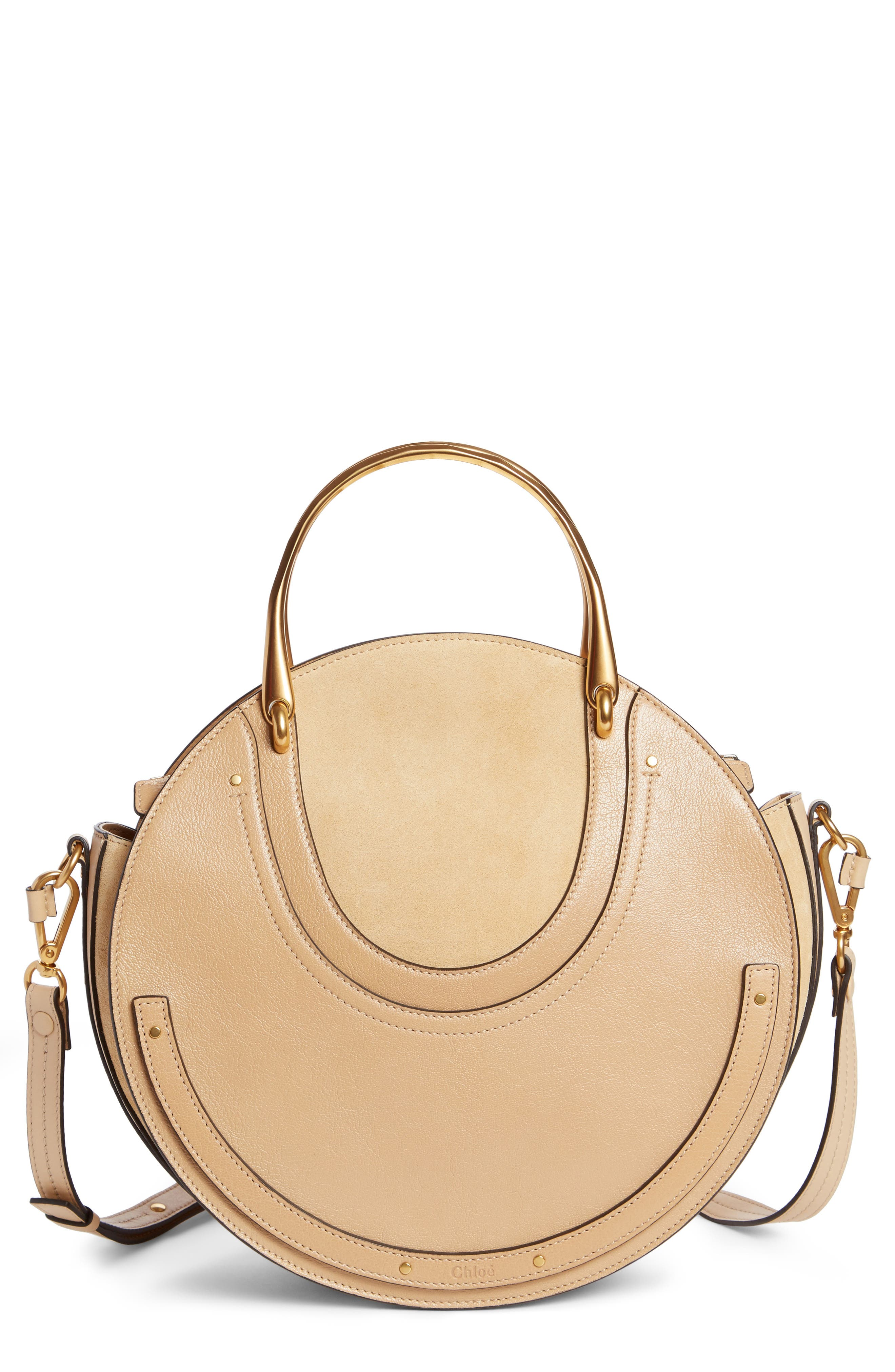 Small Pixie Maxi Leather Satchel,                         Main,                         color, 250