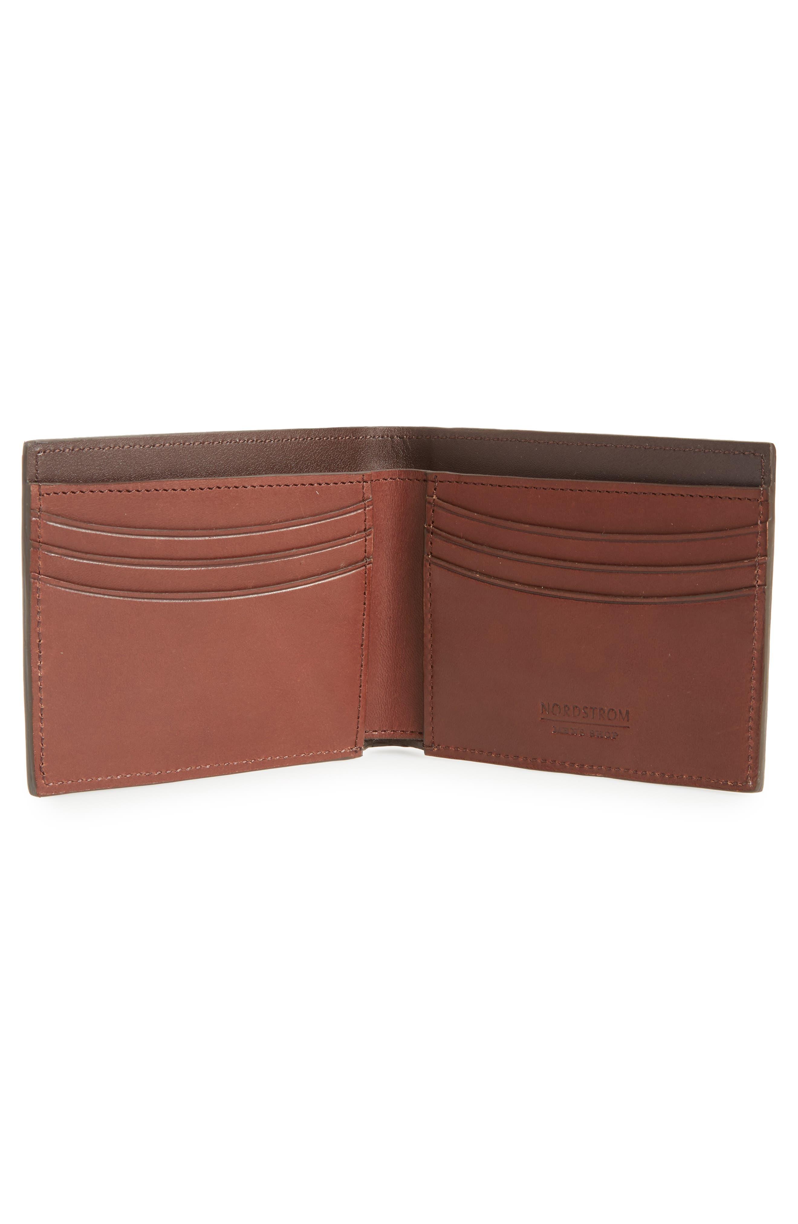Parker Leather Wallet,                             Alternate thumbnail 2, color,                             210