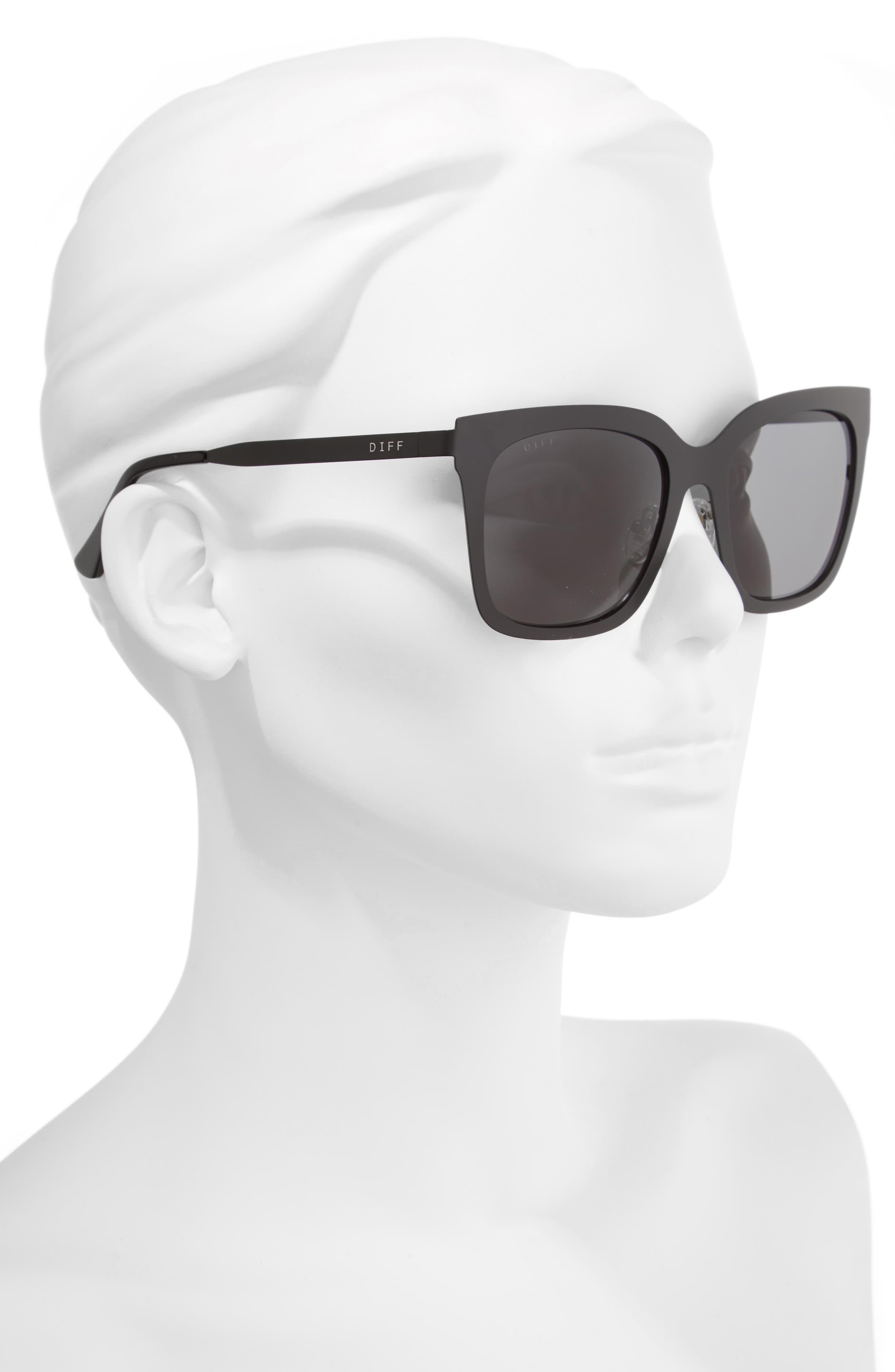x Lauren Akins Ella 53mm Cat Eye Sunglasses,                             Alternate thumbnail 2, color,