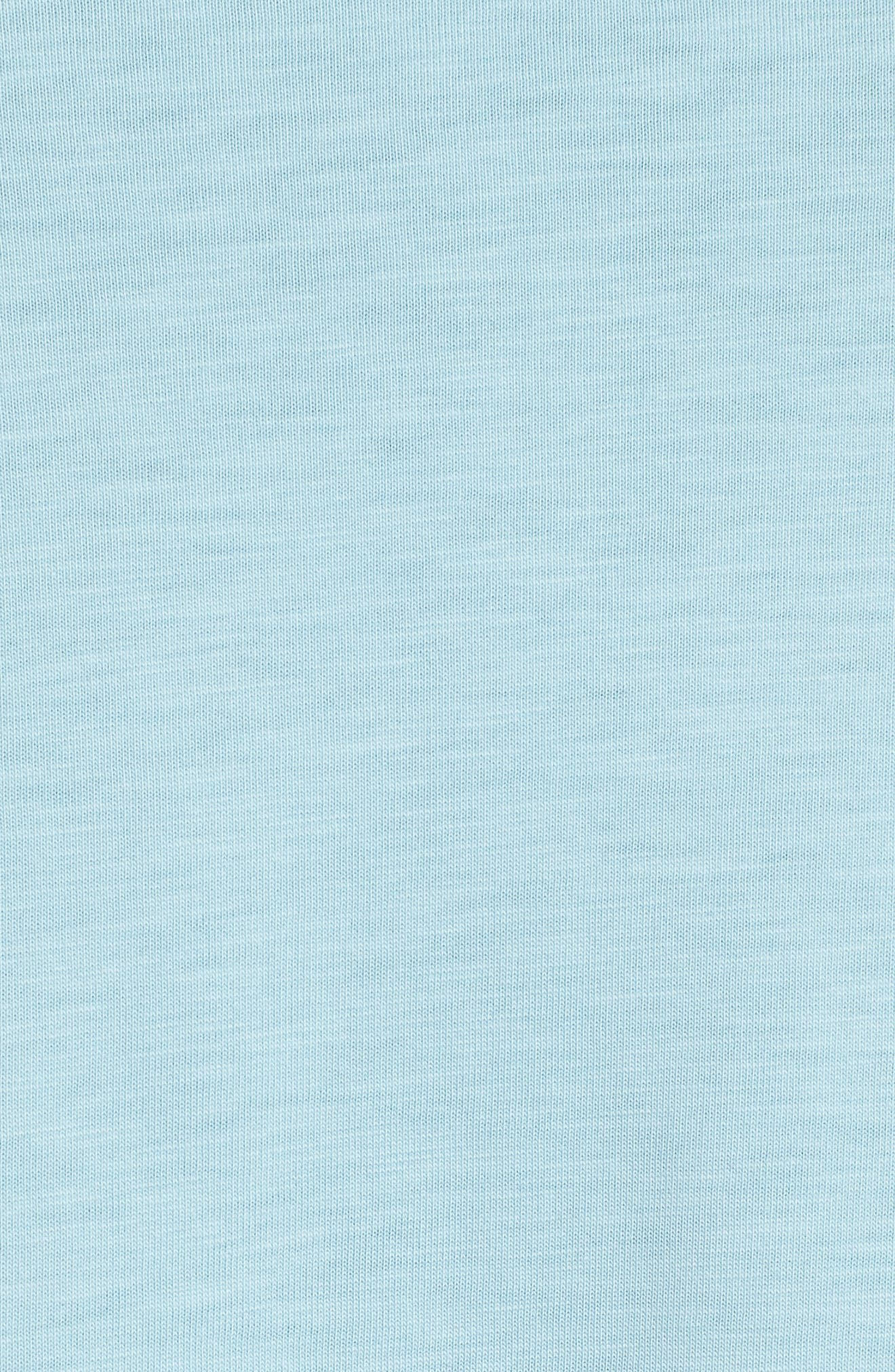 Sportswear AF1 Graphic T-Shirt,                             Alternate thumbnail 5, color,                             OCEAN BLISS/ NOISE AQUA