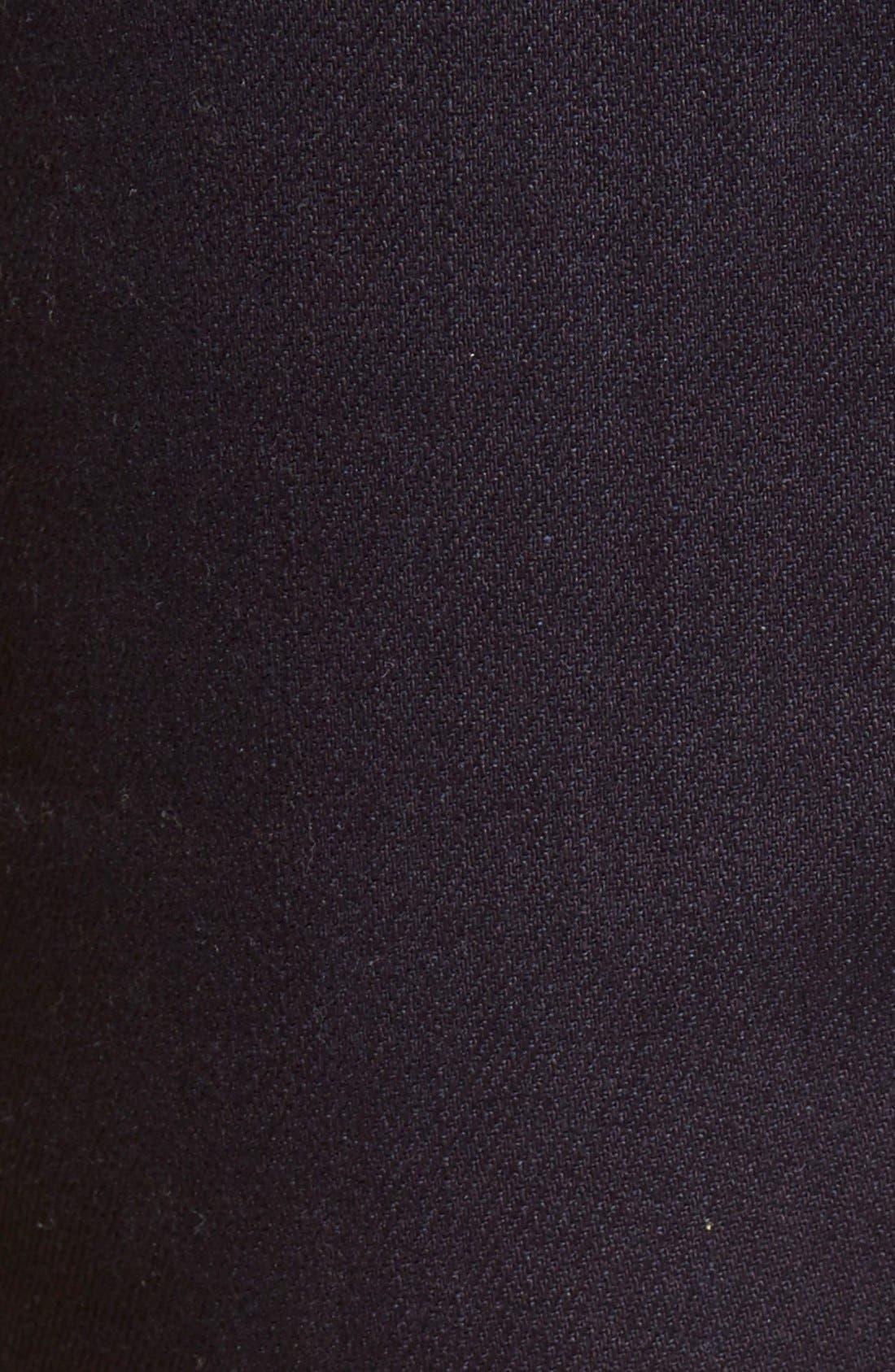 Super Skinny Guy Skinny Fit Jeans,                             Alternate thumbnail 3, color,                             INDIGO STRETCH SELVEDGE