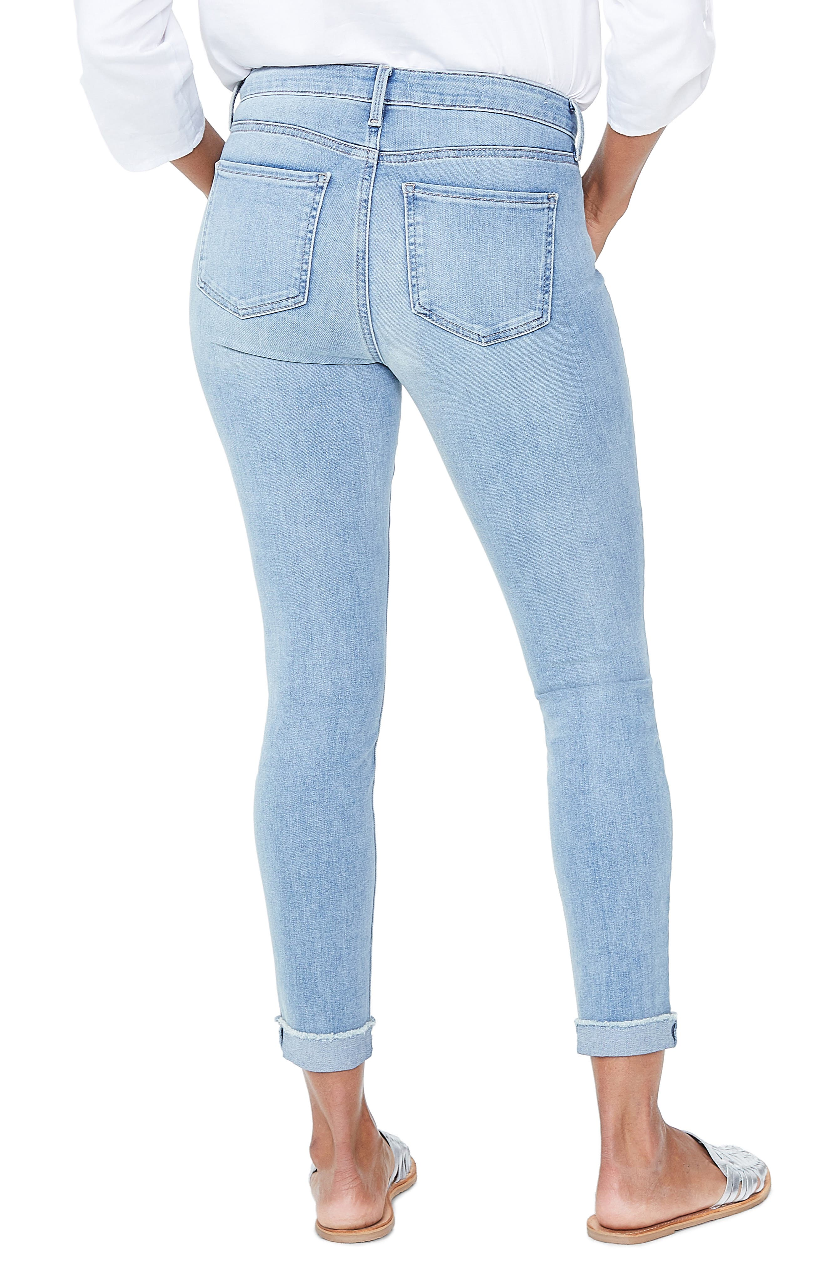 Ami Cuffed Ankle Skinny Jeans,                             Alternate thumbnail 2, color,                             DREAMSTATE
