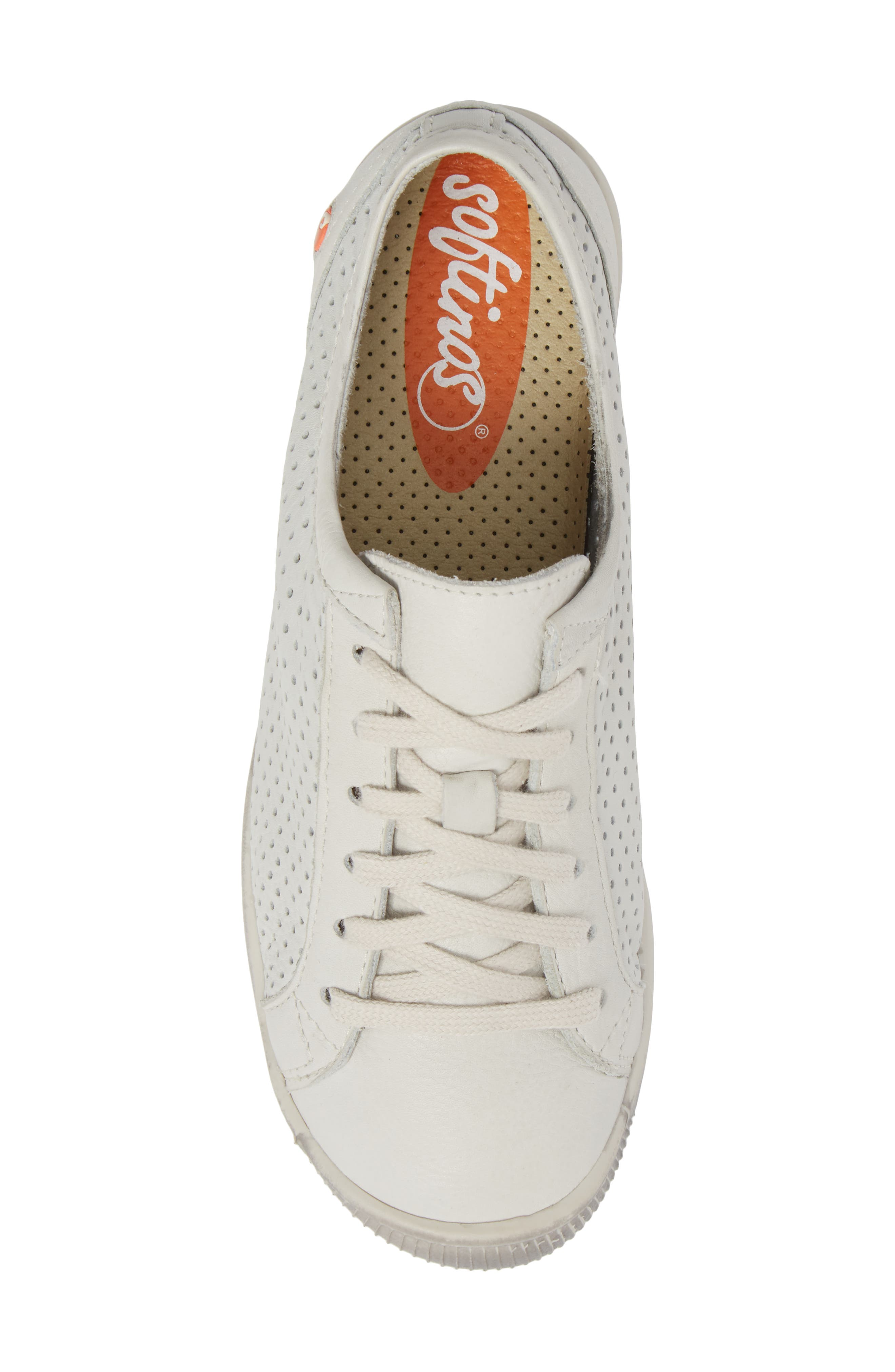 Ica Sneaker,                             Alternate thumbnail 5, color,                             WHITE LEATHER