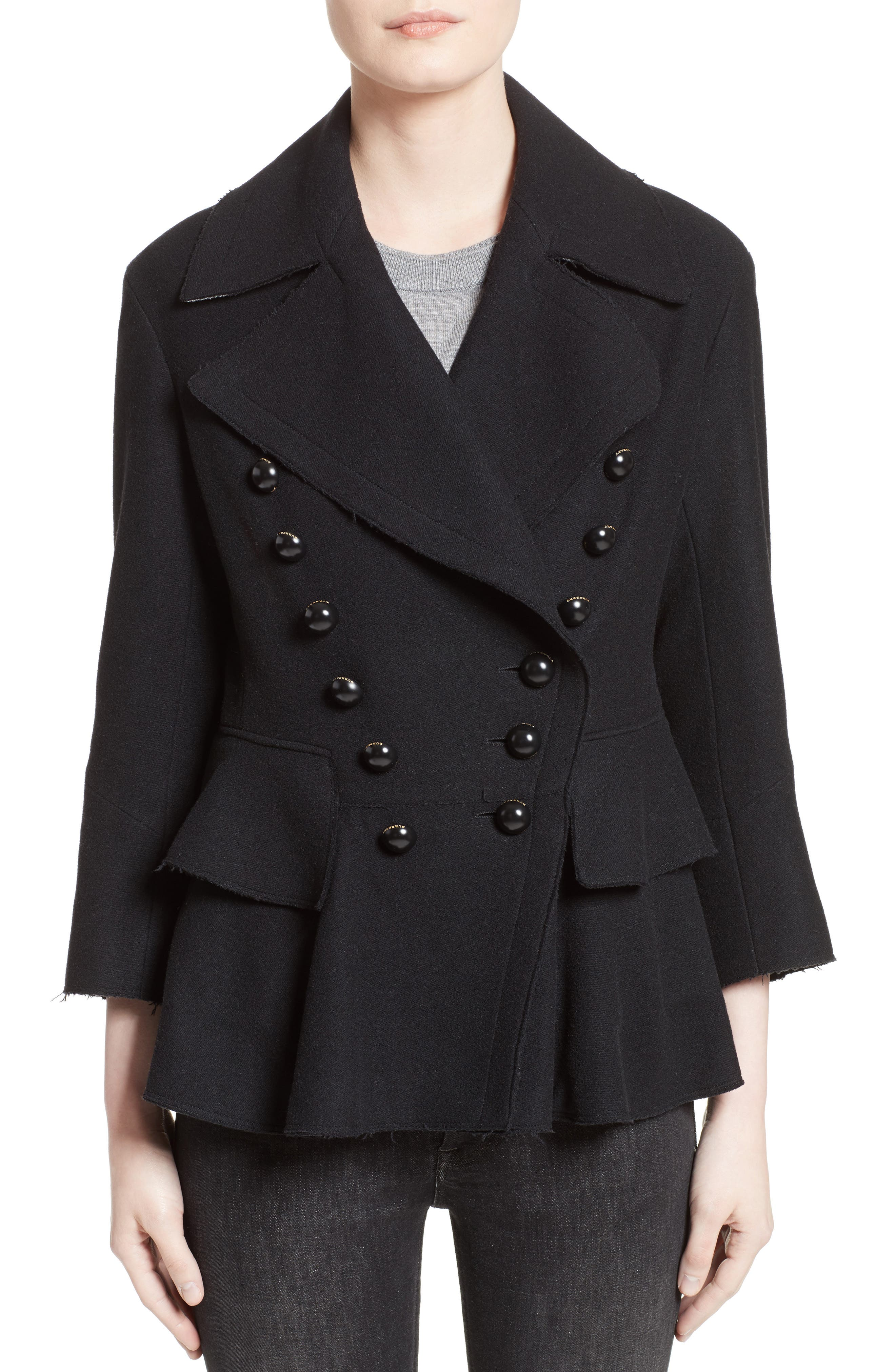 Alvingham Wool Blend Jacket,                             Main thumbnail 1, color,                             001