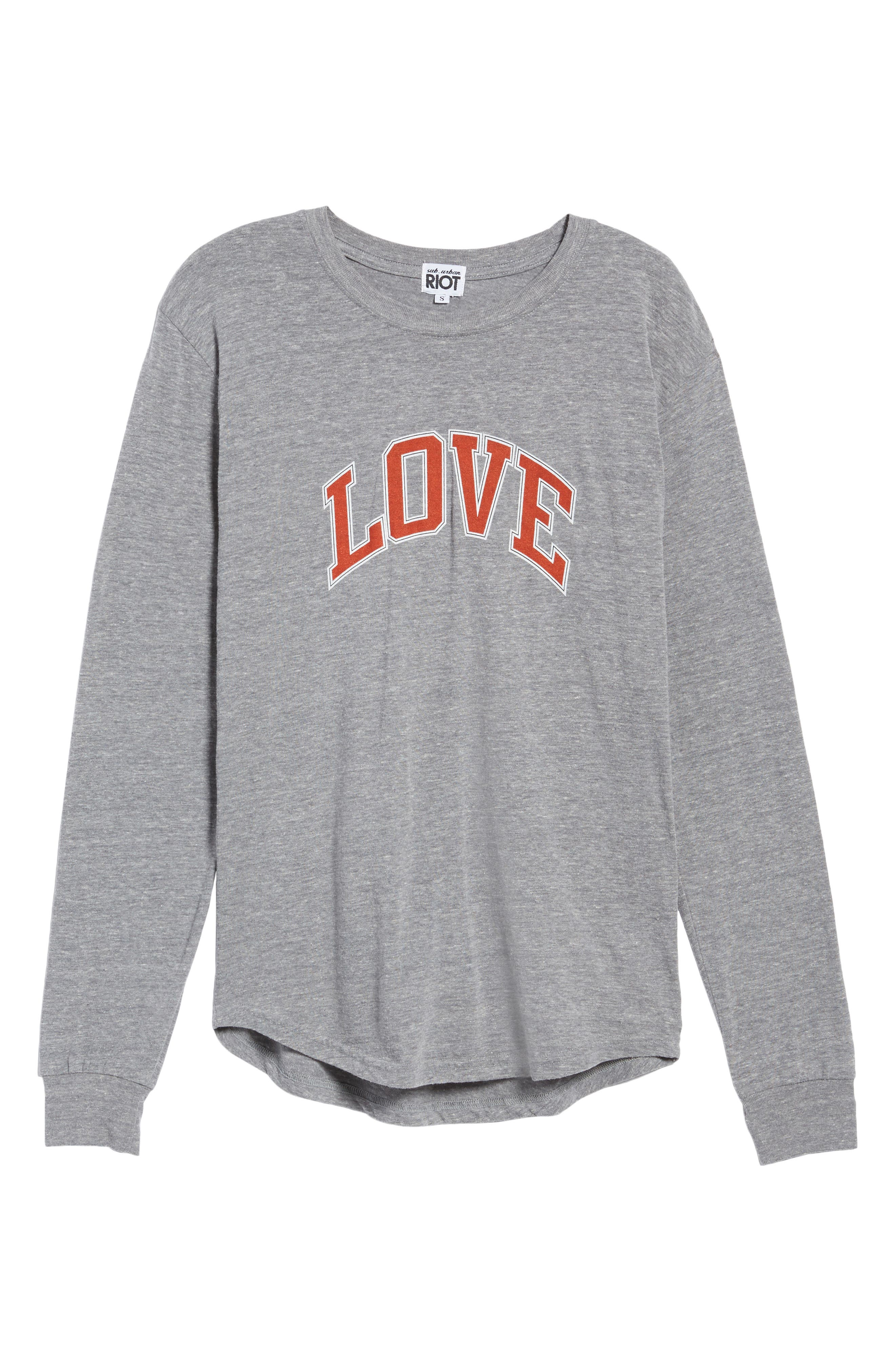 Love Camp Tee,                             Alternate thumbnail 6, color,                             050