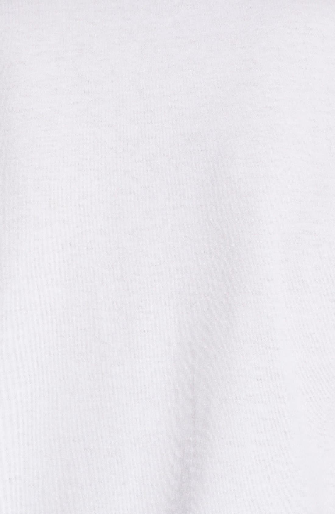 Comme des Garçons PLAY Heart Print T-Shirt,                             Alternate thumbnail 5, color,                             PINK