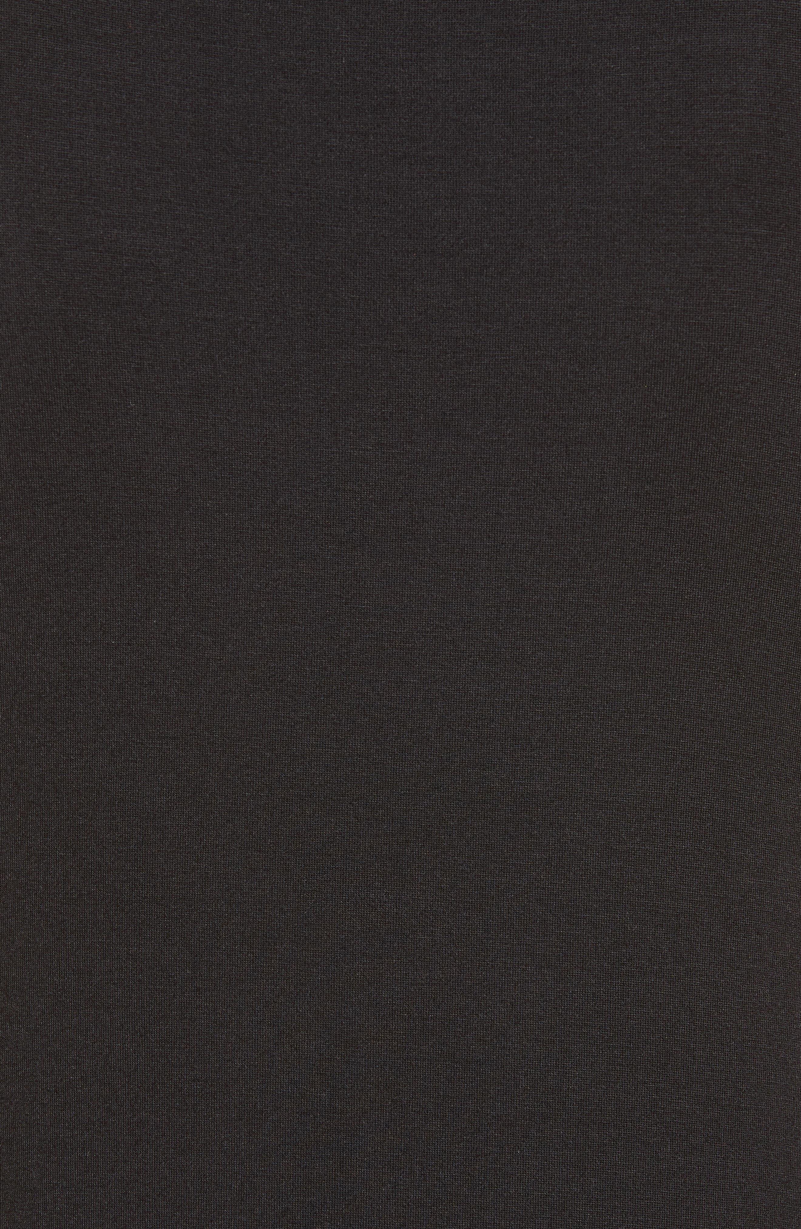Maddie Knit Dress,                             Alternate thumbnail 5, color,                             001