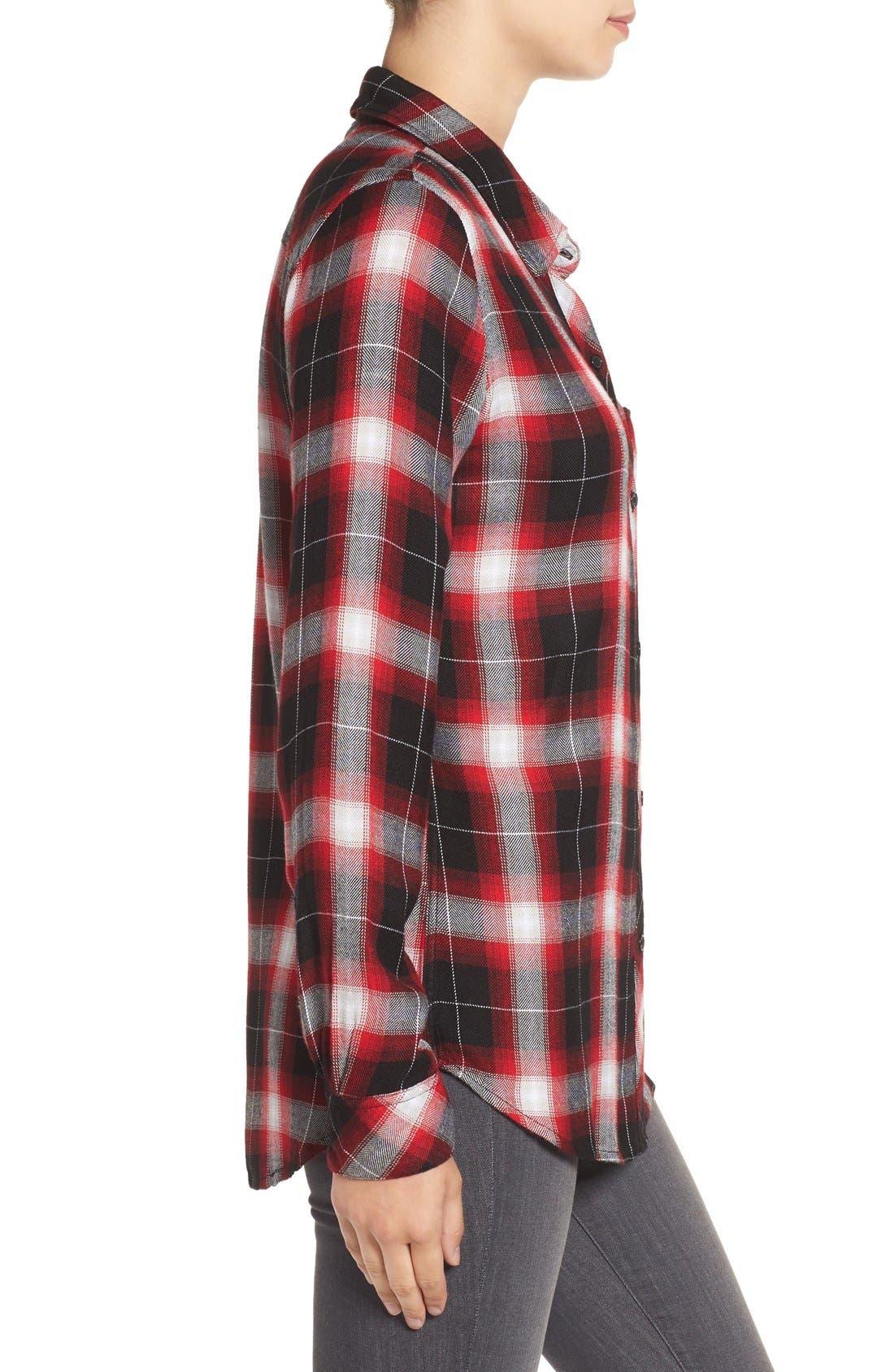 Hunter Plaid Shirt,                             Alternate thumbnail 402, color,