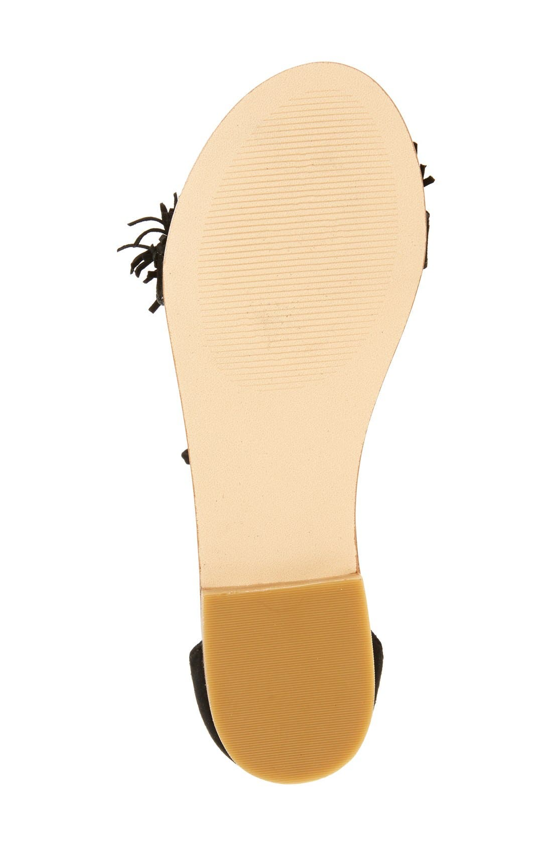 'Sweetyy' Lace-Up Sandal,                             Alternate thumbnail 4, color,                             006