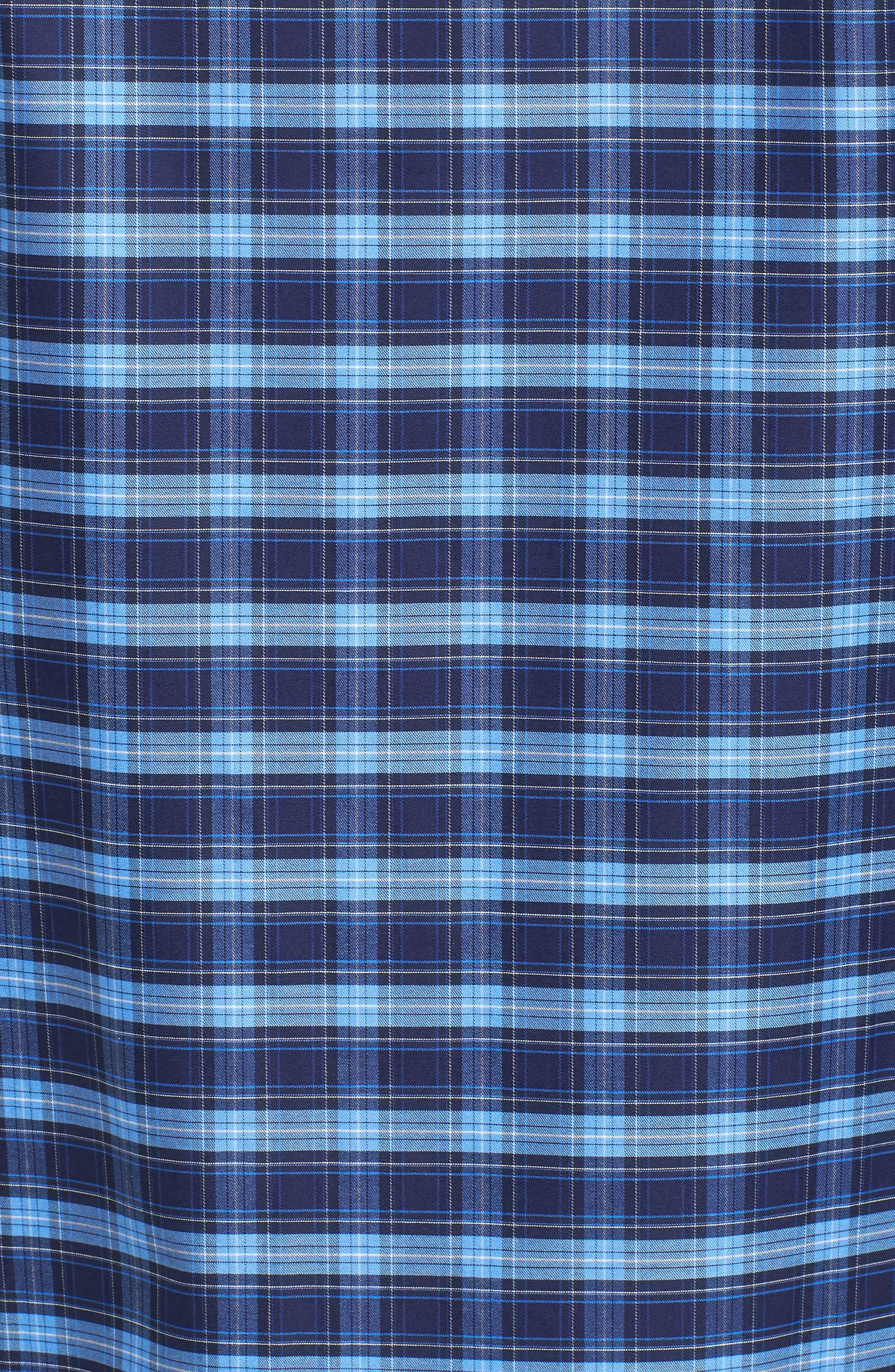 Classic Fit Check Sport Shirt,                             Alternate thumbnail 5, color,                             411