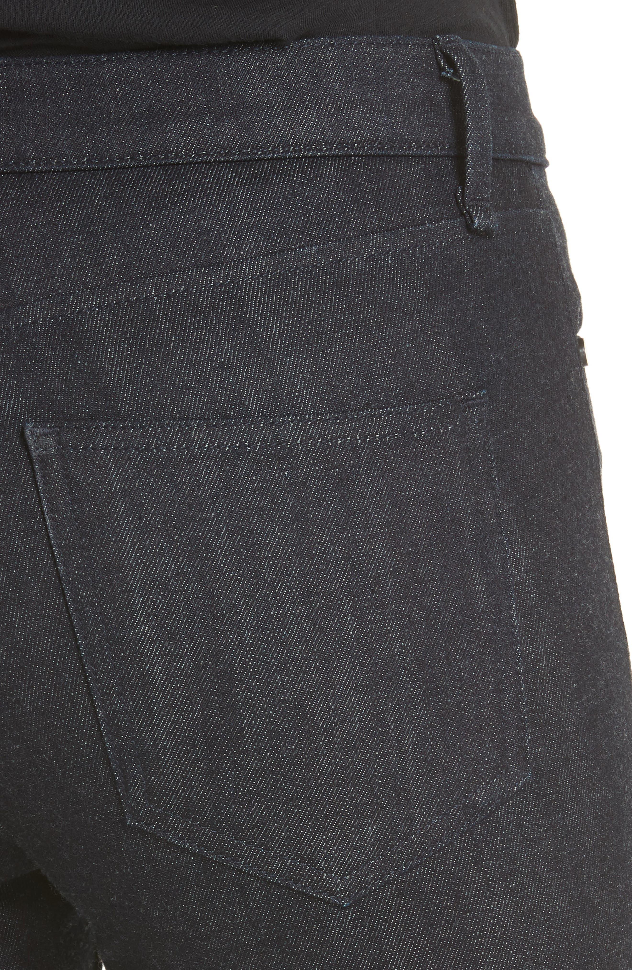 Cigarette Leg Skinny Jeans,                             Alternate thumbnail 4, color,                             470