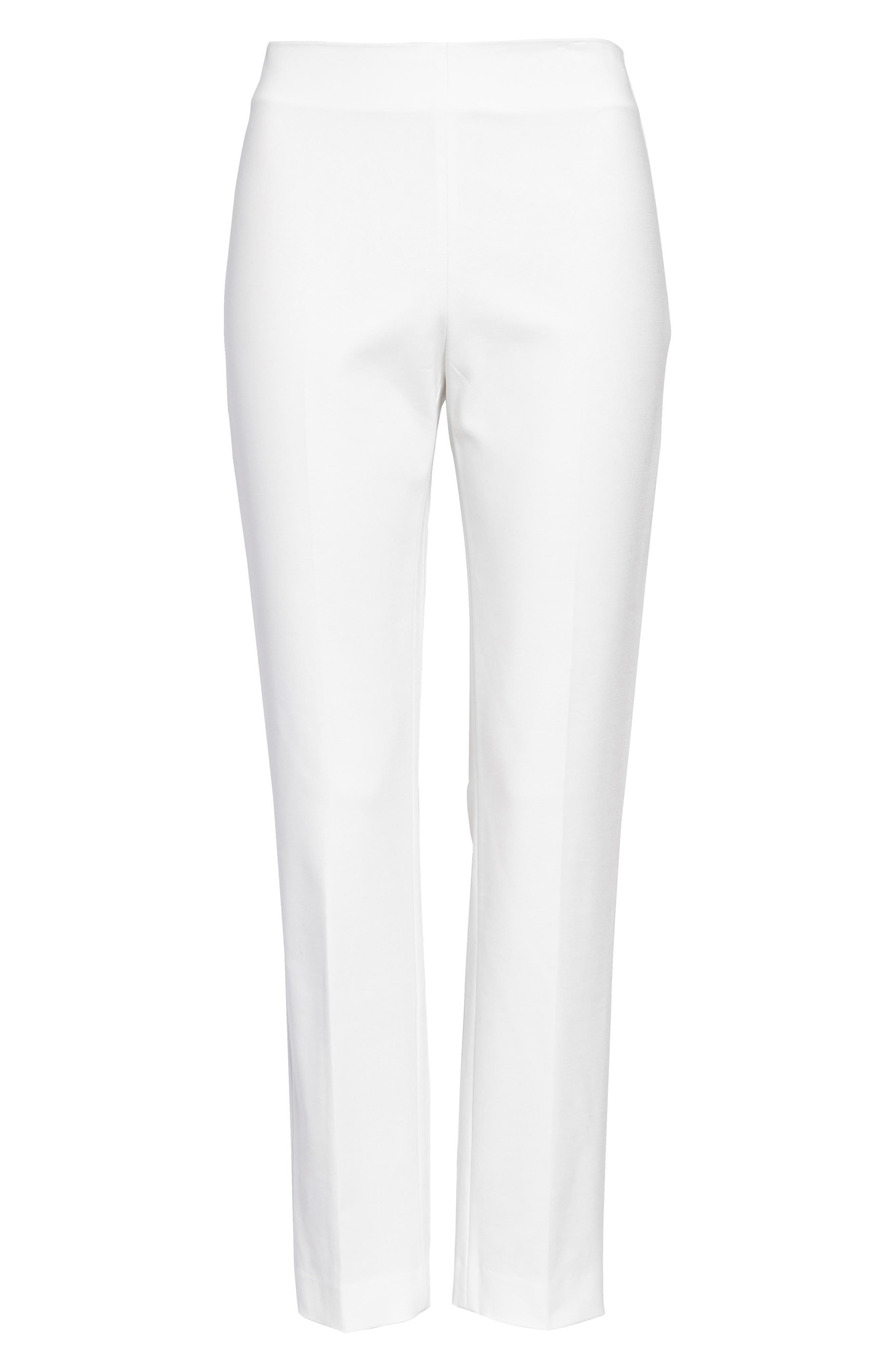 Side Zip Double Weave Pants,                             Alternate thumbnail 26, color,