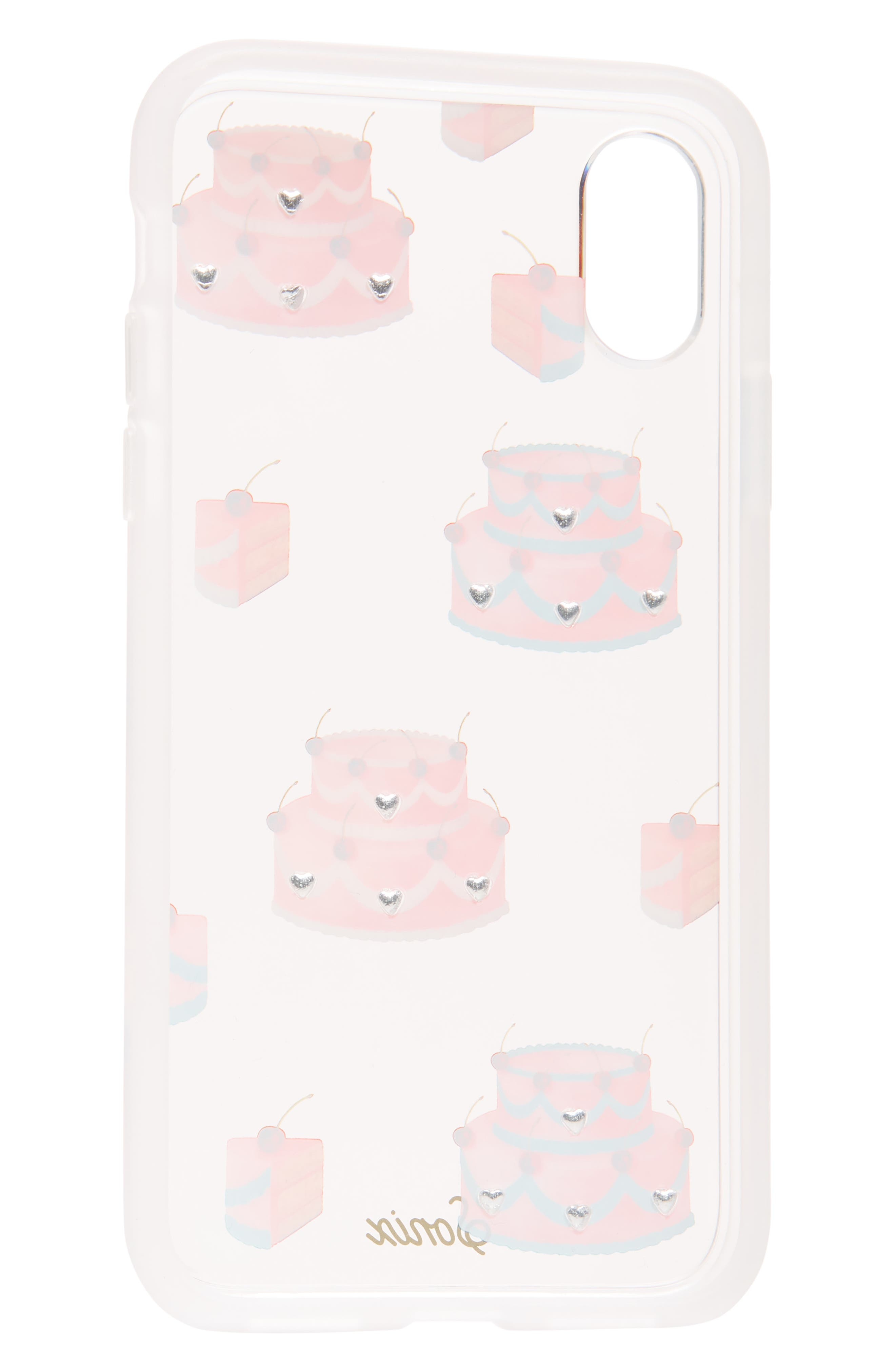 SONIX,                             Fancy Cake iPhone X/Xs, XR & X Max Case,                             Alternate thumbnail 2, color,                             PINK