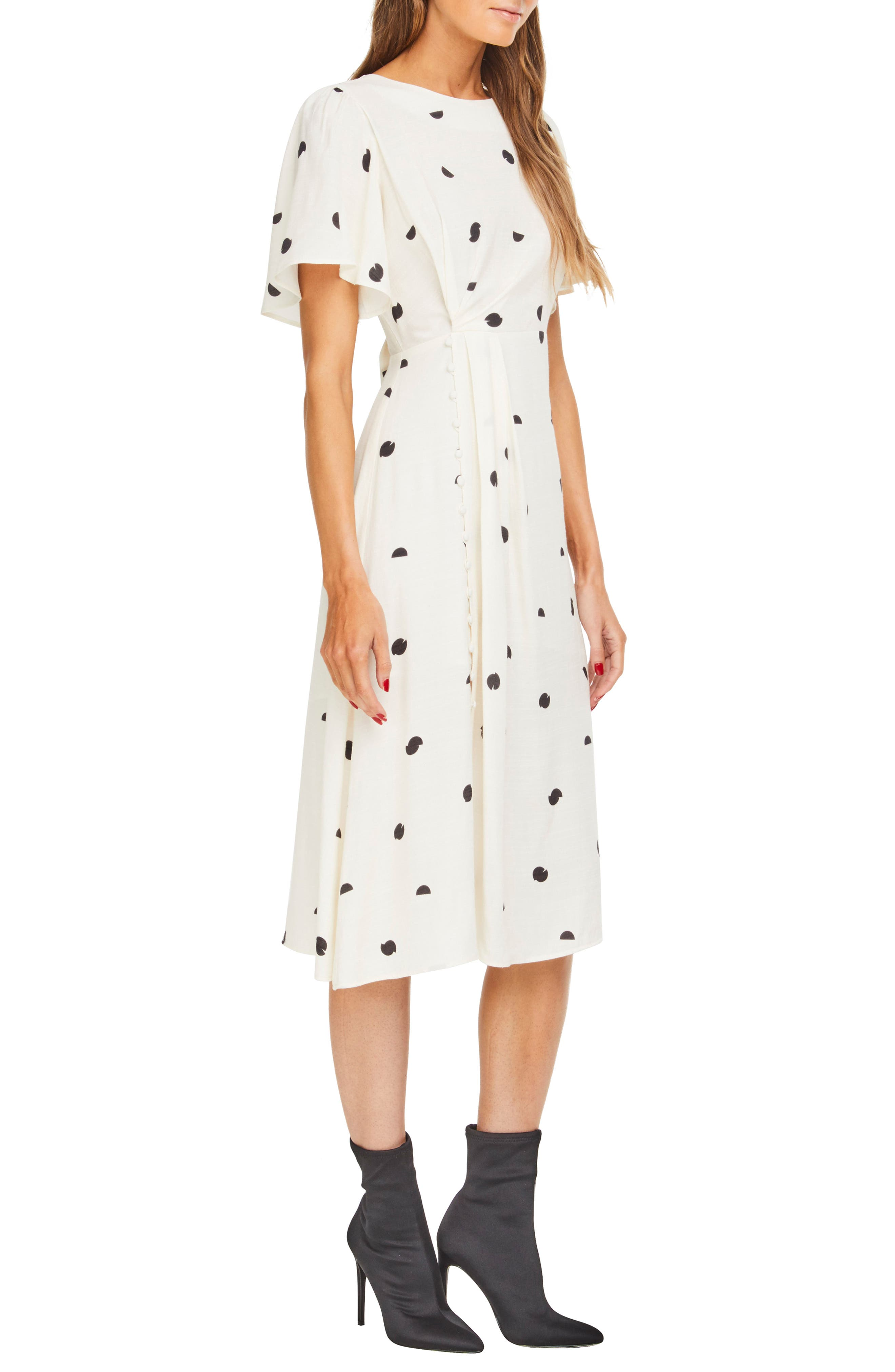 ASTR THE LABEL,                             Ebony Dress,                             Alternate thumbnail 3, color,                             900