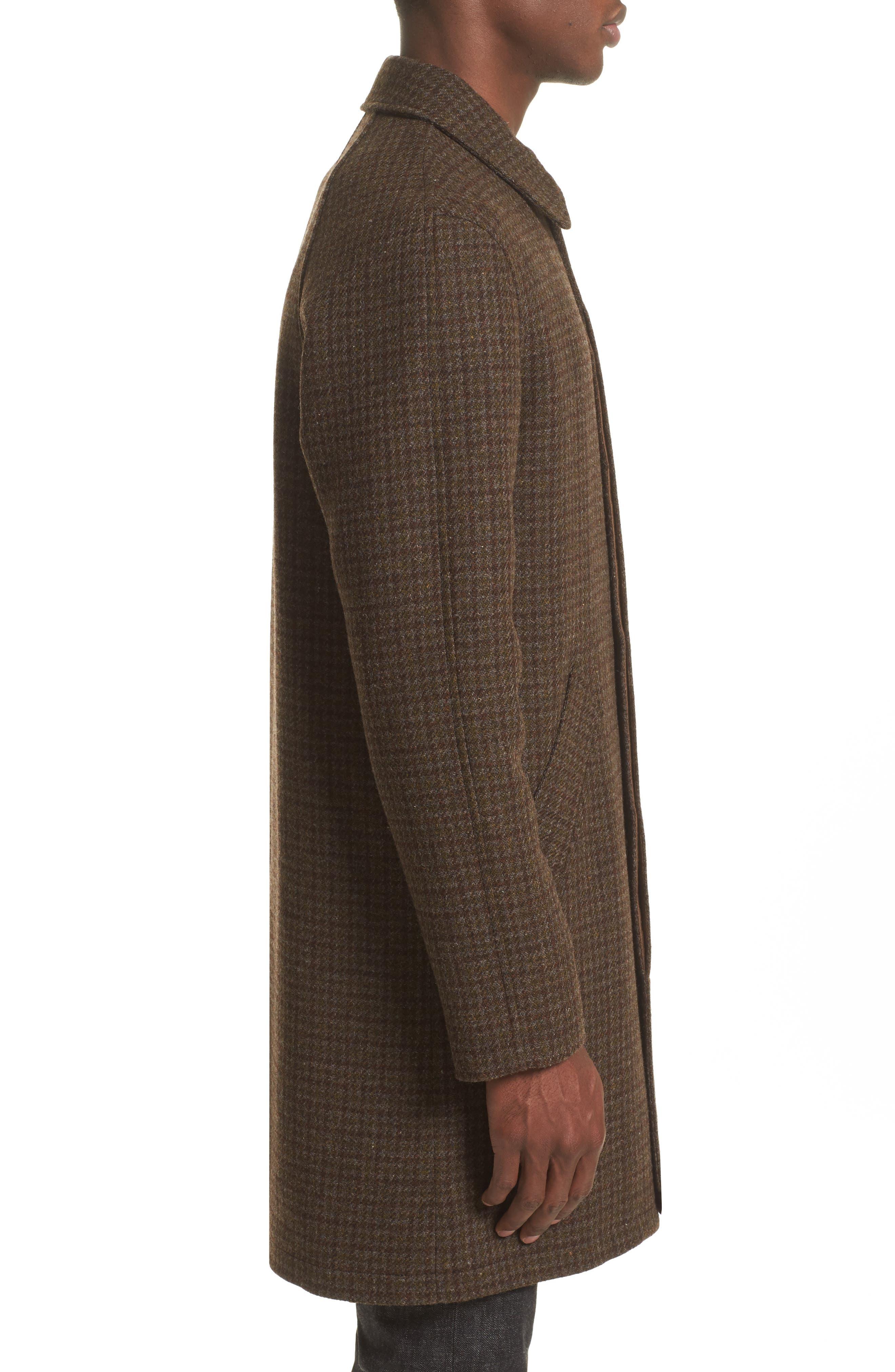 Tweed Overcoat,                             Alternate thumbnail 3, color,