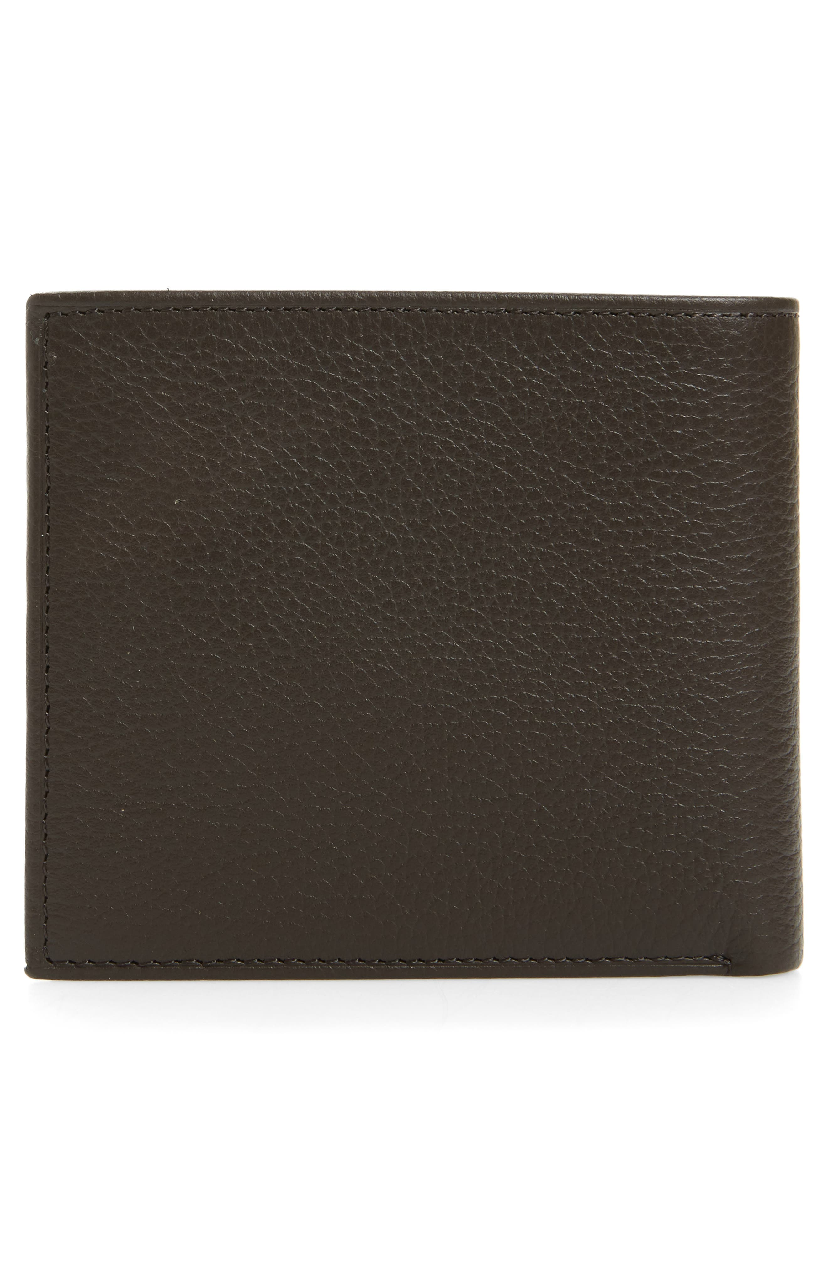 Leather Wallet,                             Alternate thumbnail 9, color,