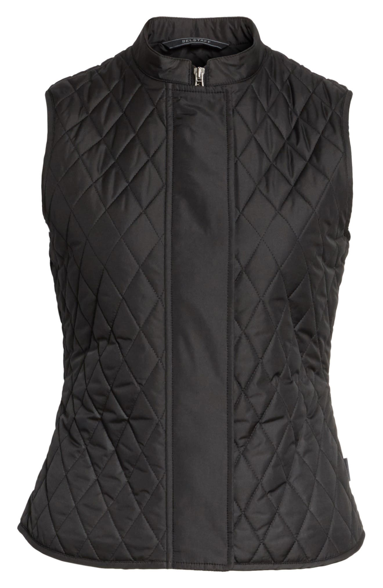 Westwell Technical Quilted Vest,                             Alternate thumbnail 5, color,                             001