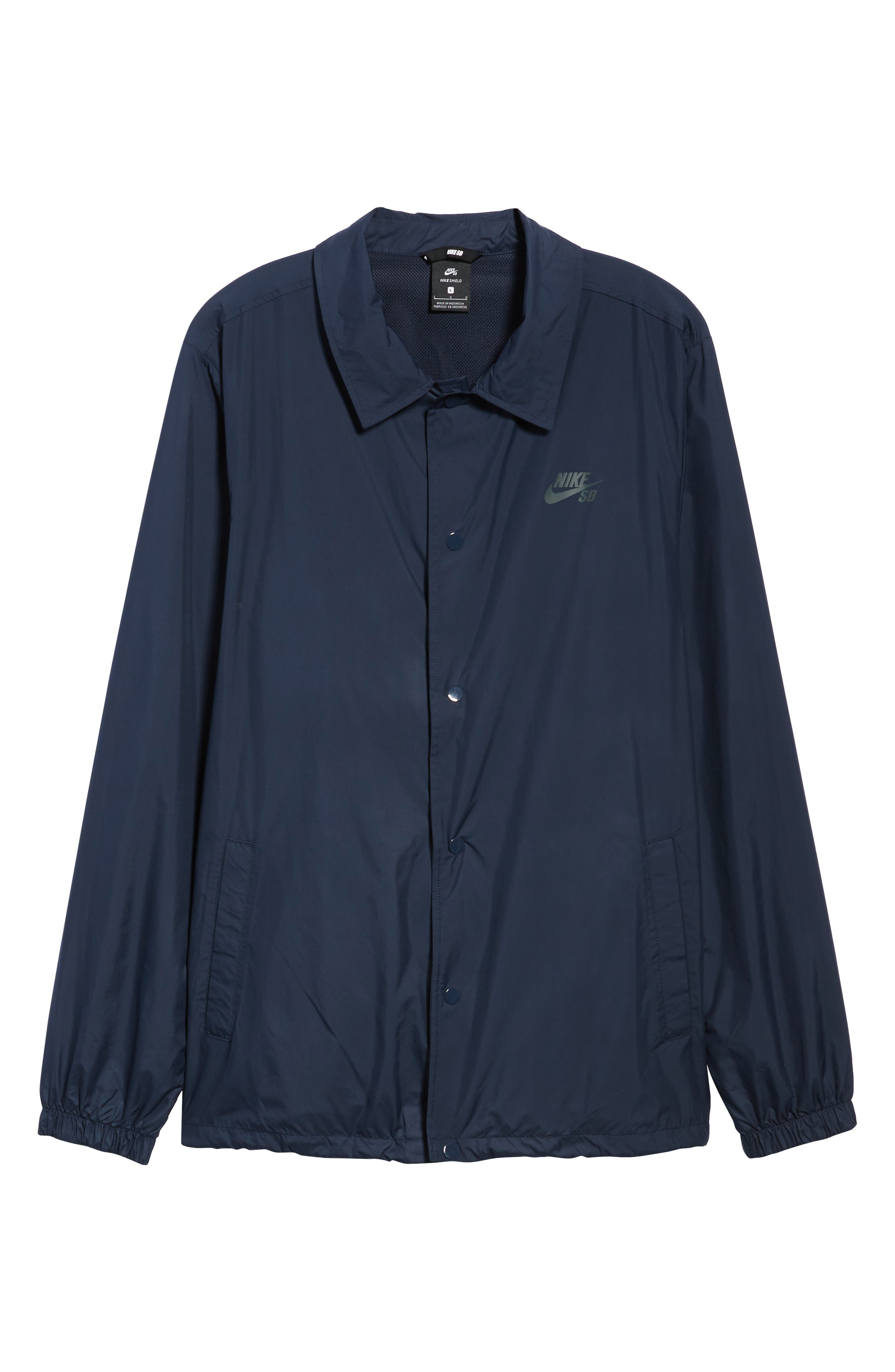SB Shield Coach's Jacket,                             Alternate thumbnail 6, color,                             OBSIDIAN/ ANTHRACITE