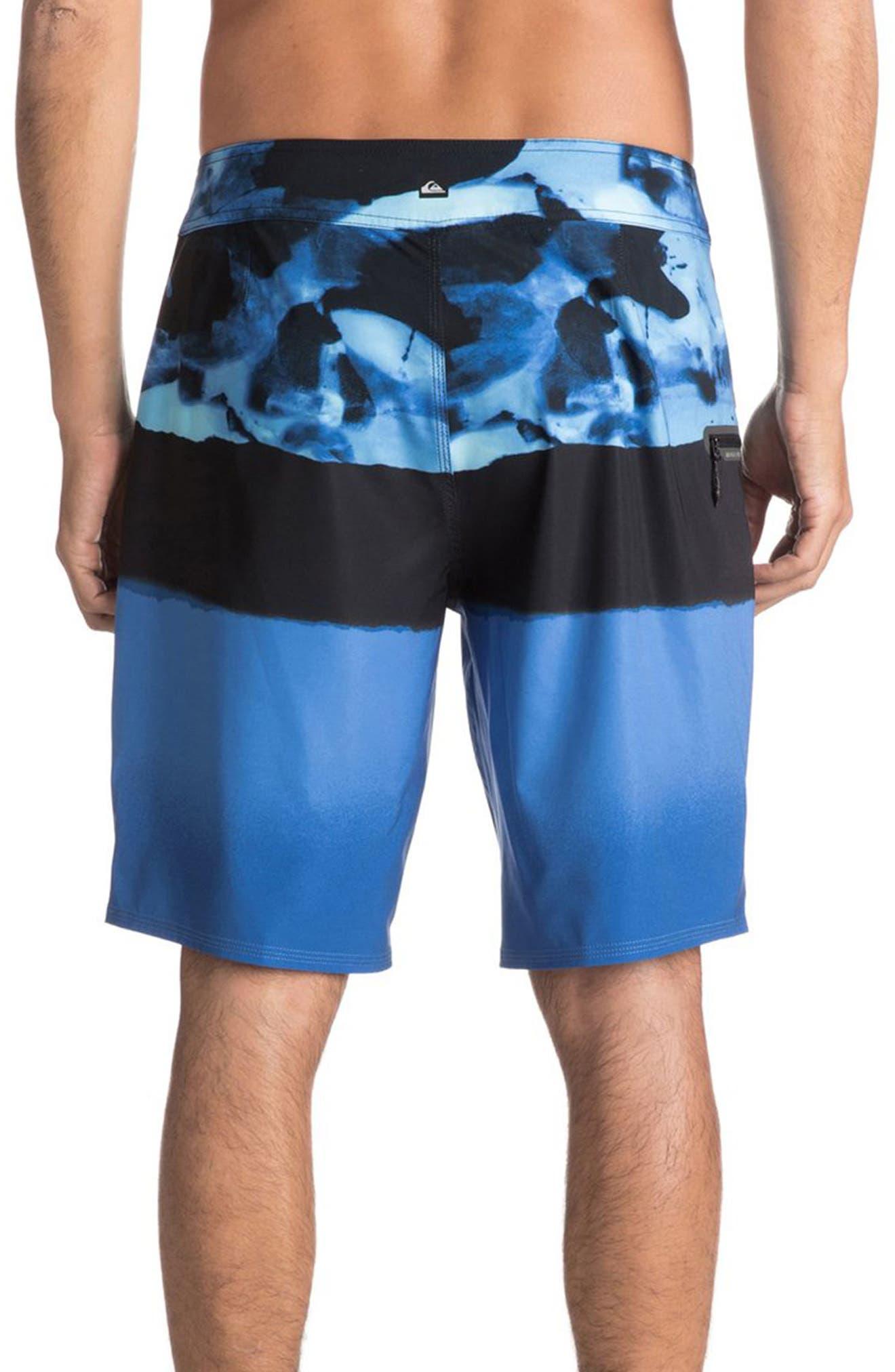 Blocked Resin Board Shorts,                             Alternate thumbnail 5, color,