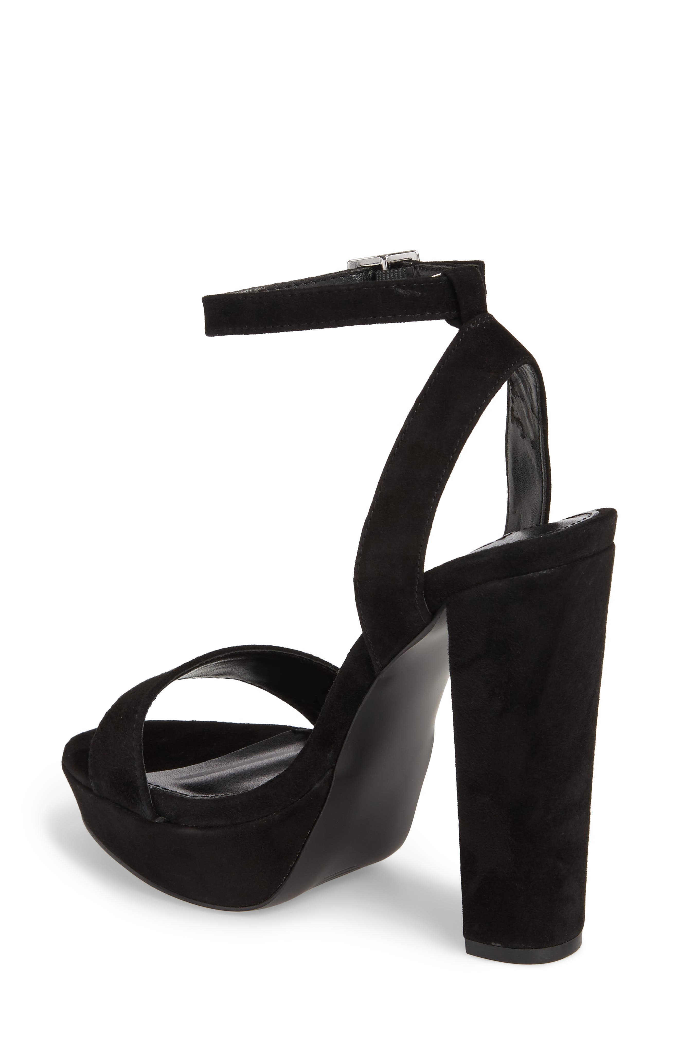 Insomnia Platform Ankle Strap Sandal,                             Alternate thumbnail 2, color,                             006