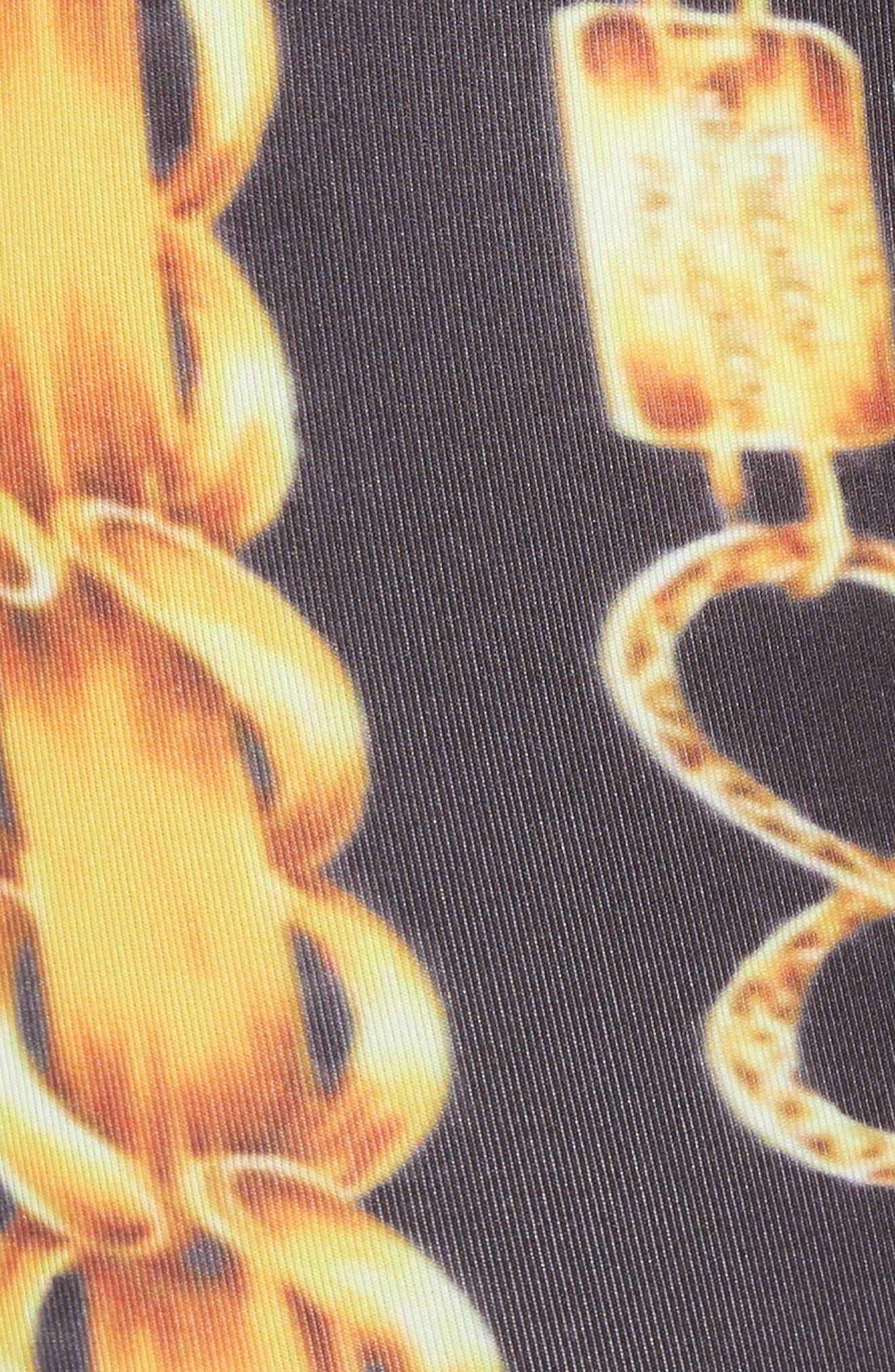 Gold Chain Sace Boxer Briefs,                             Alternate thumbnail 5, color,                             WHITE/ GOLD/ BLACK