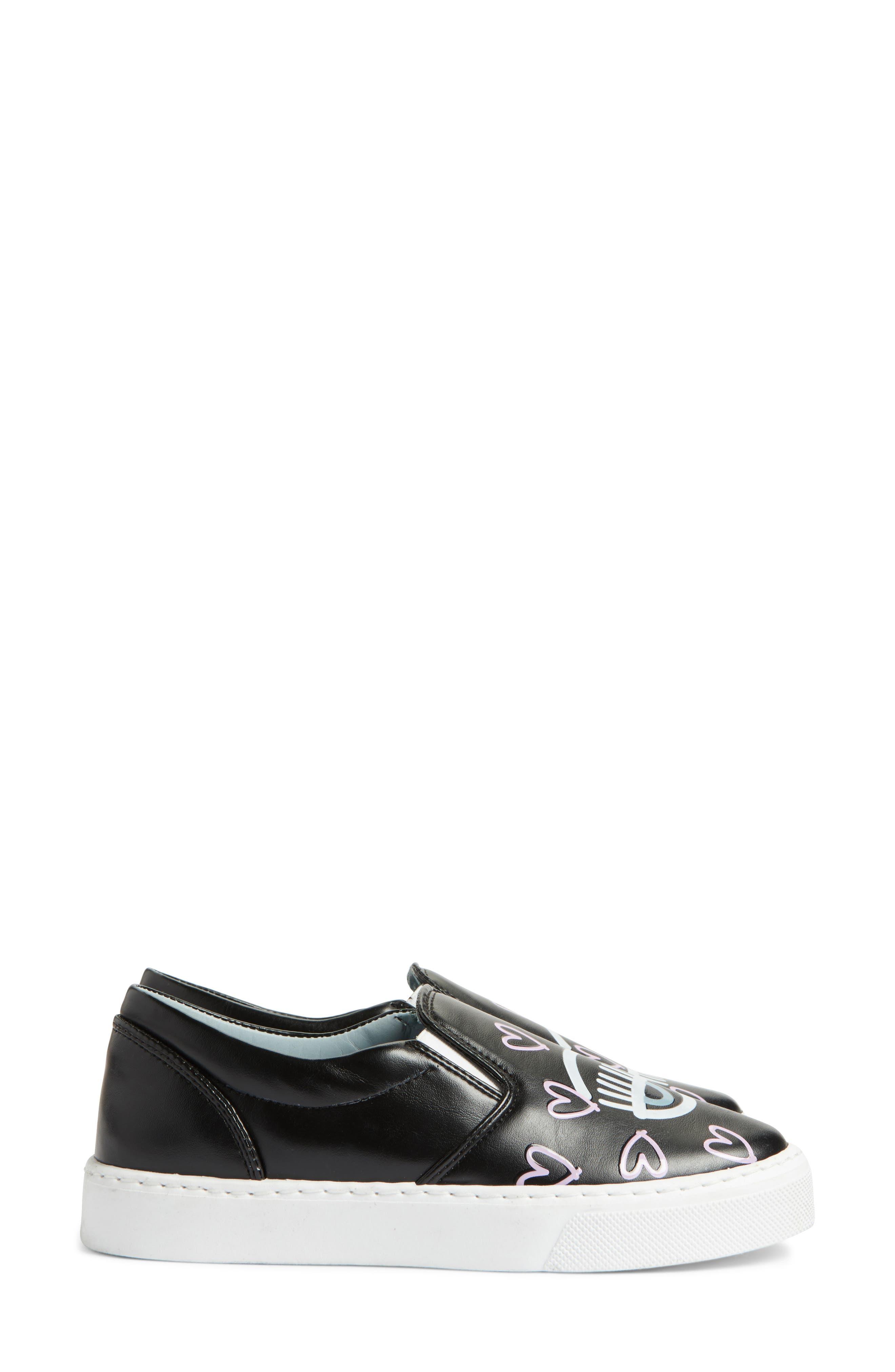 Candy Flirting Slip-On Sneaker,                             Alternate thumbnail 4, color,                             001