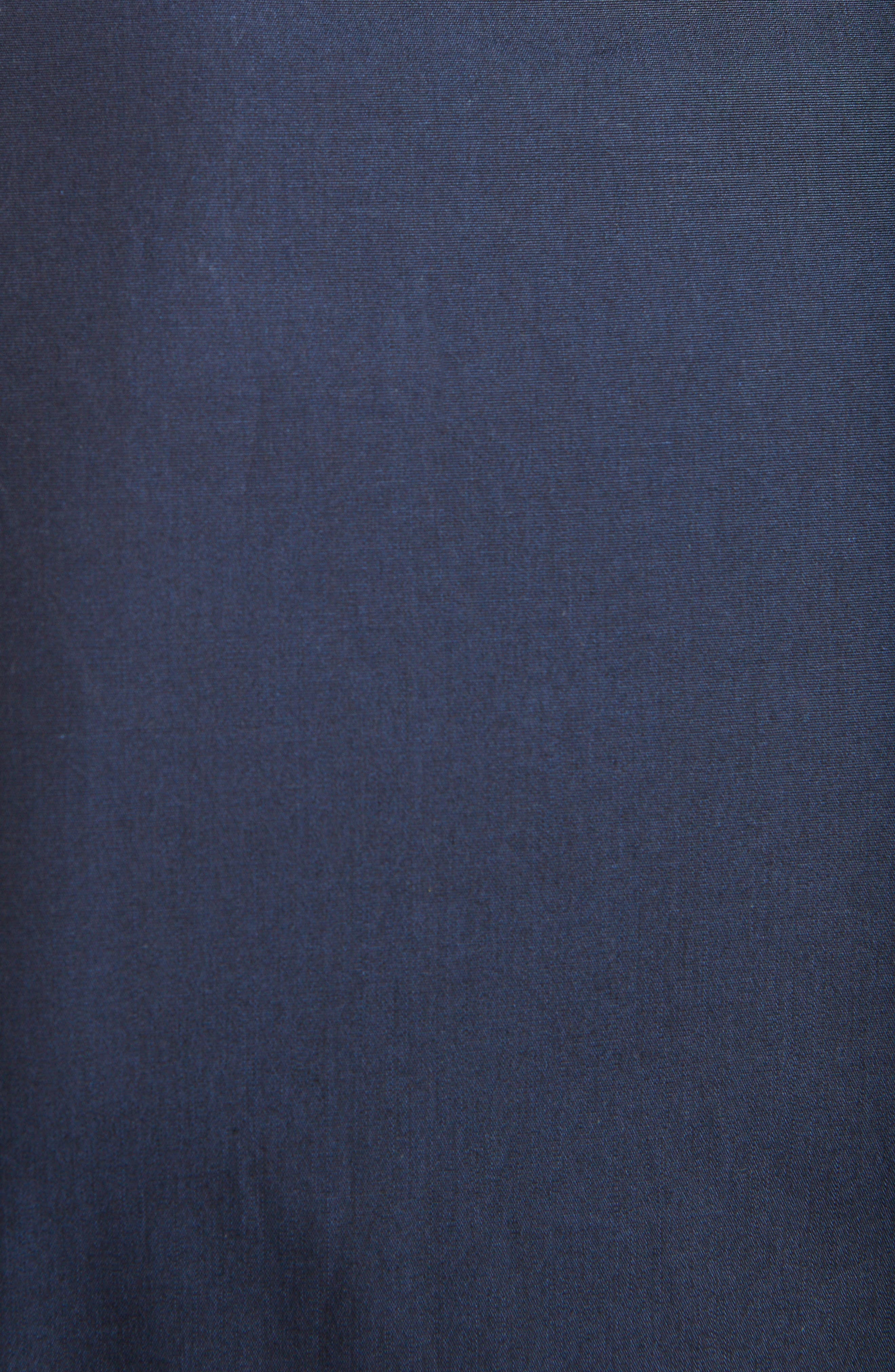 Covered Placket Sport Shirt,                             Alternate thumbnail 2, color,                             NAVY