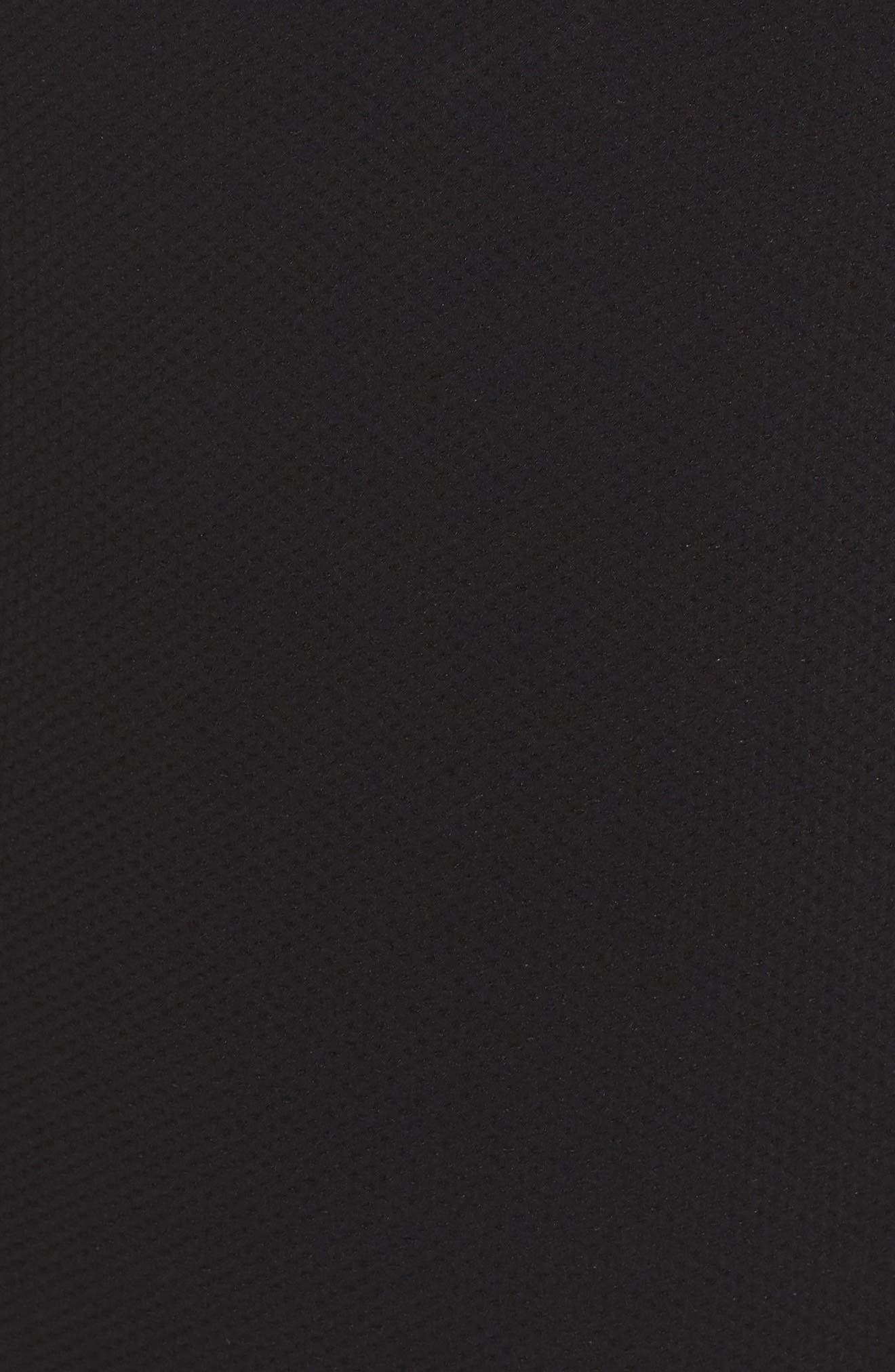 Piqué Ruffle Halter One-Piece Swimsuit,                             Alternate thumbnail 5, color,                             007